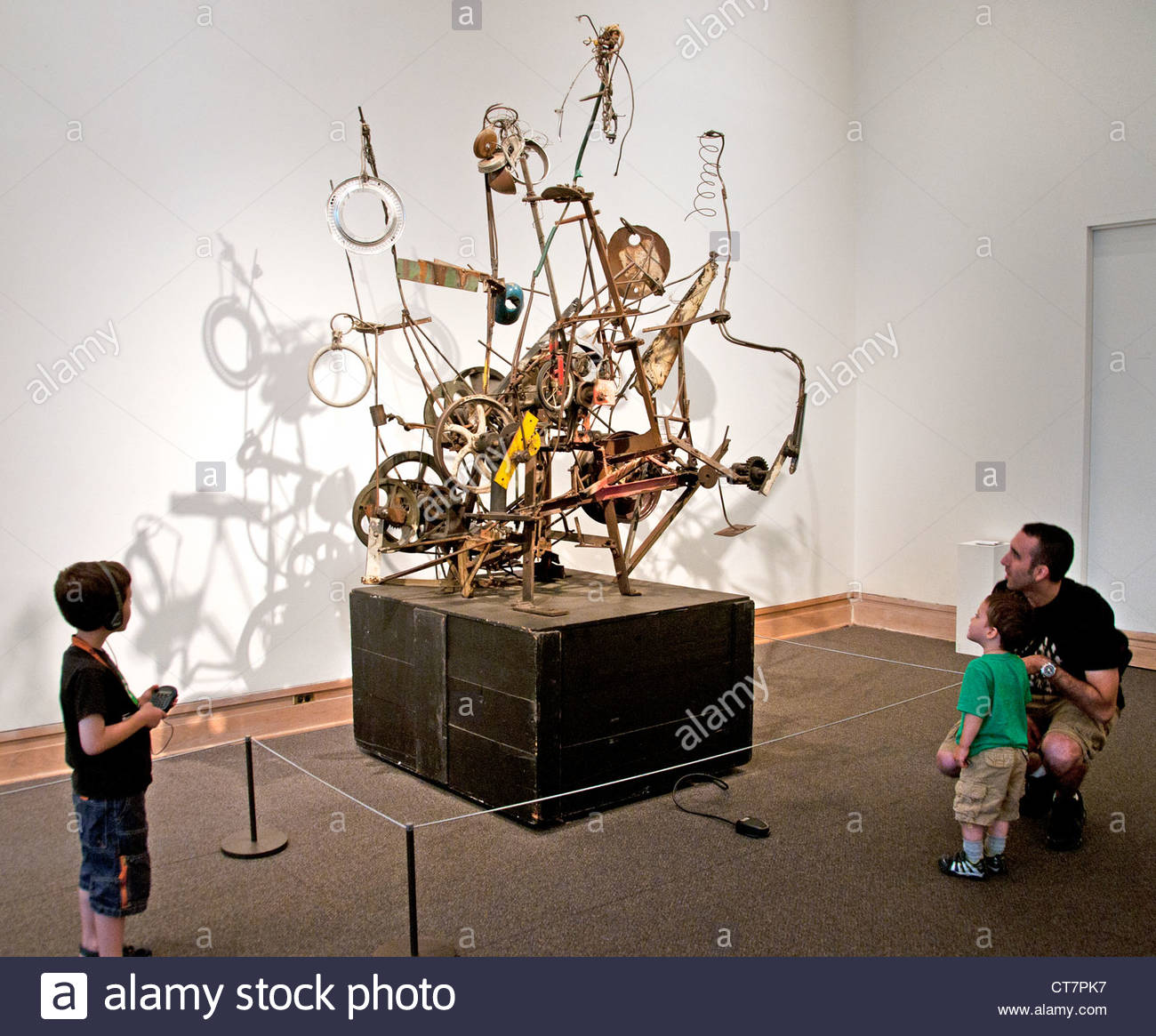 Jean Tinguely 1961 Narva Suisse Suisse Photo Stock