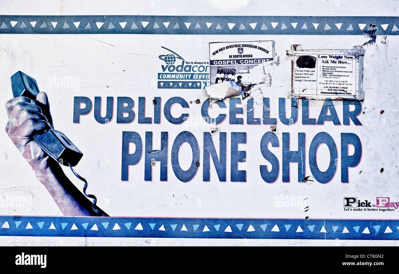 téléphone cellulaire datant en Afrique du Sud