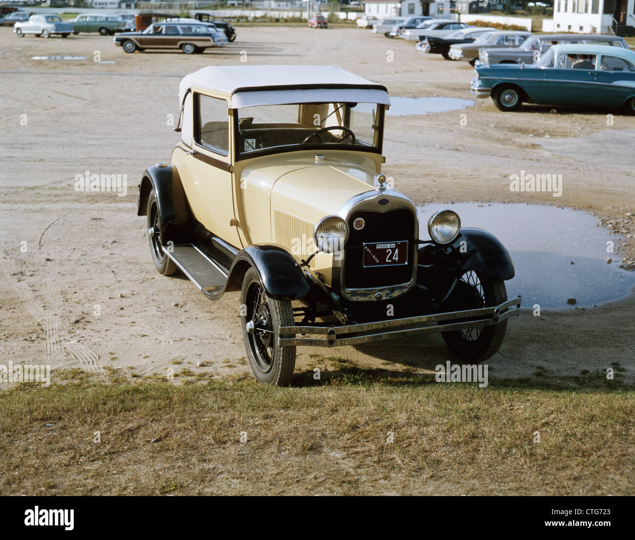 1920 FORD 1929 COUPé Photo Stock