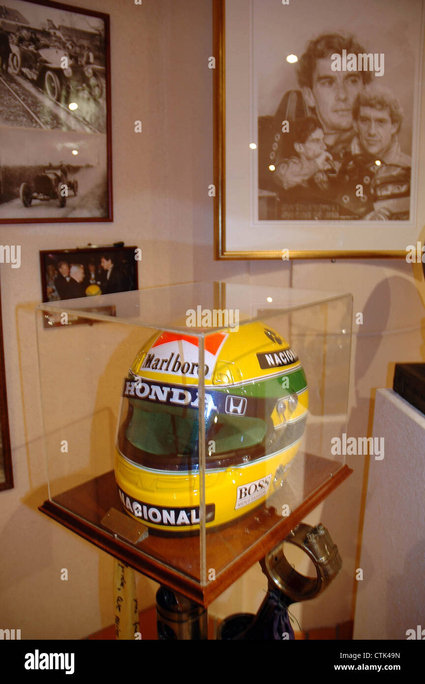 ayrton senna crash helmet photos ayrton senna crash helmet images alamy. Black Bedroom Furniture Sets. Home Design Ideas