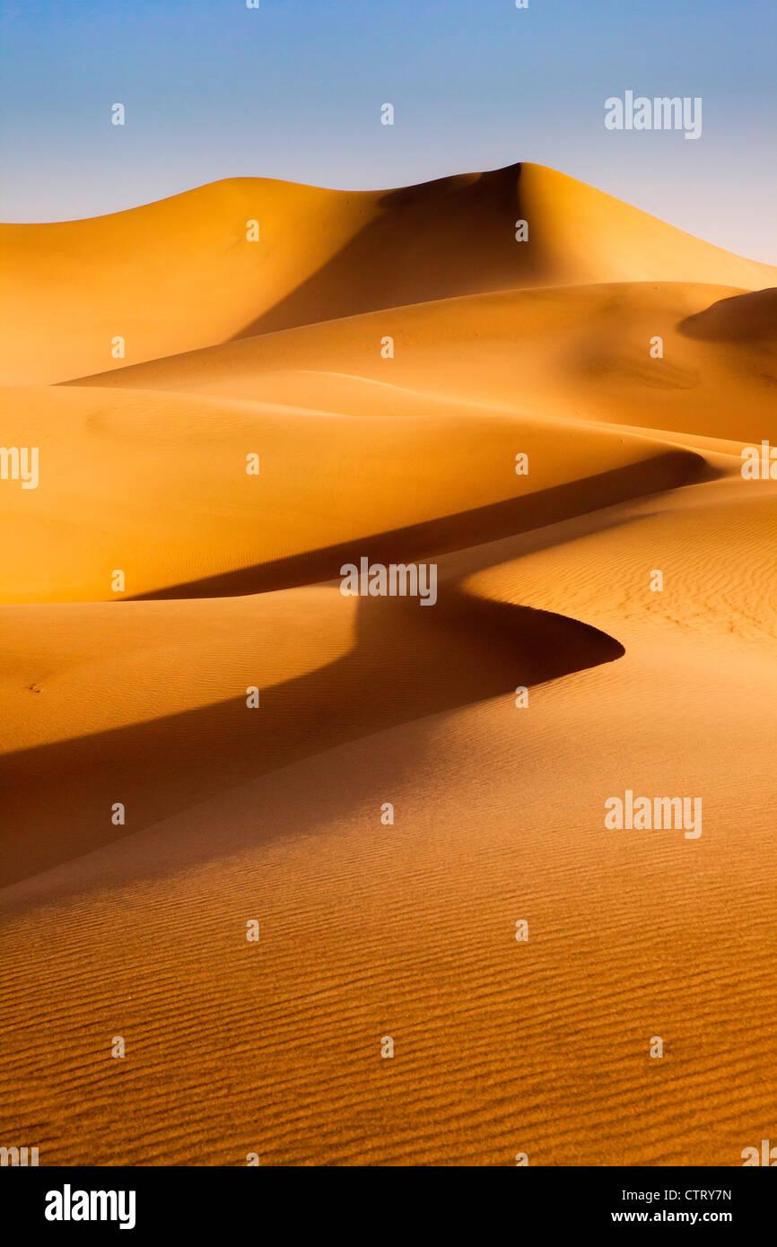 Mesquite Dunes, Death Valley, Californie Banque D'Images