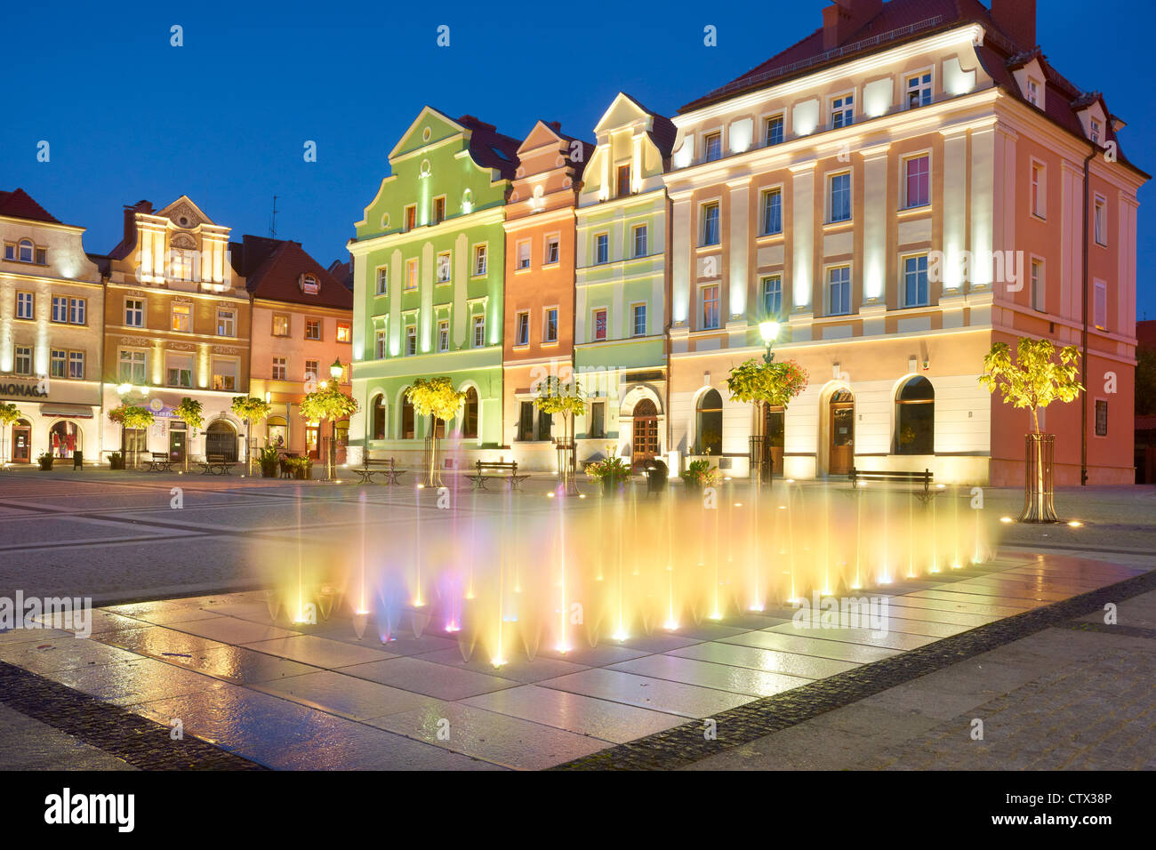 Boleslawiec, Basse-silésie, dans le sud-ouest de la Pologne, Pologne, Europe Photo Stock
