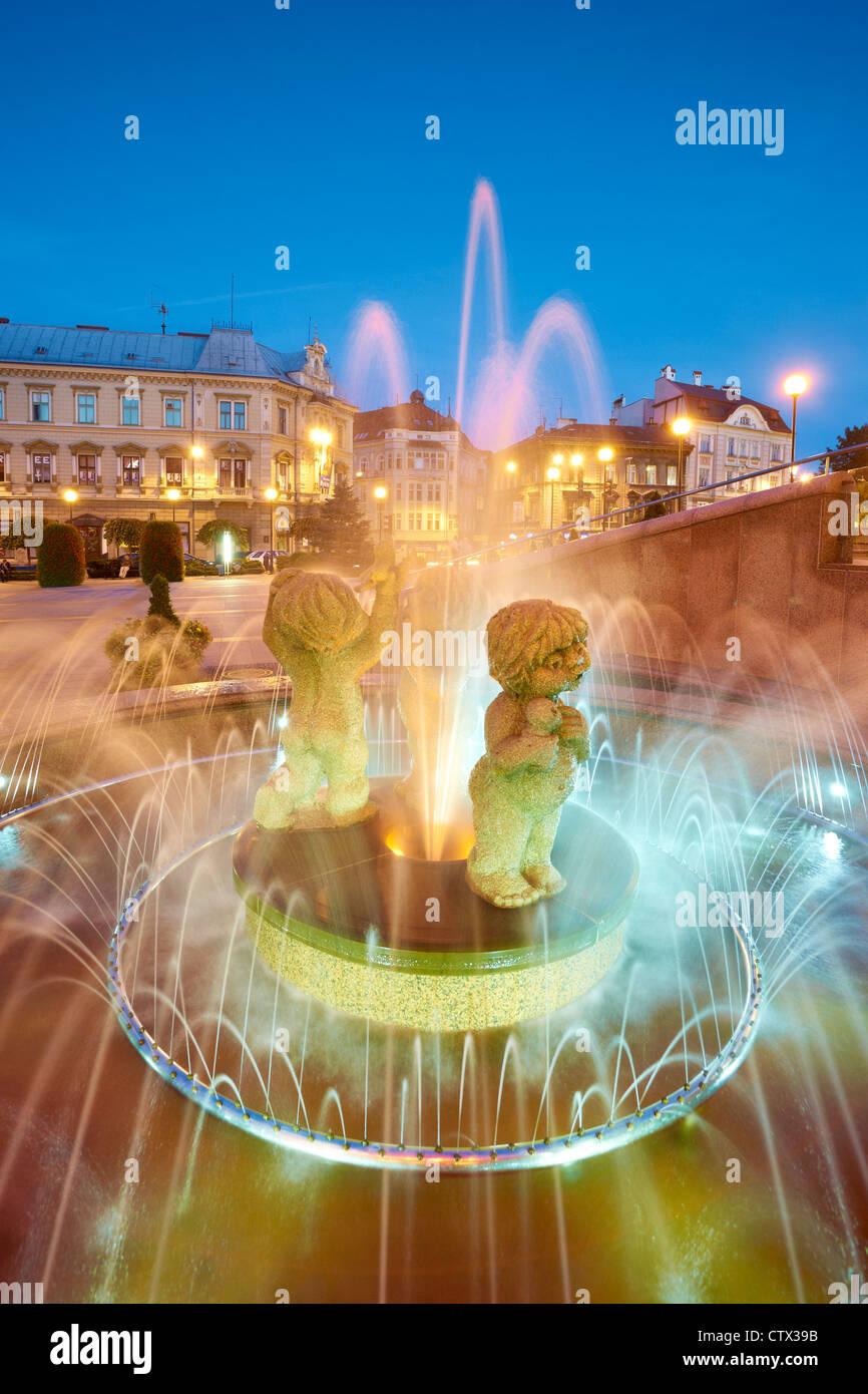 Bielsko-Biala, région de Silésie, Pologne, Europe Photo Stock