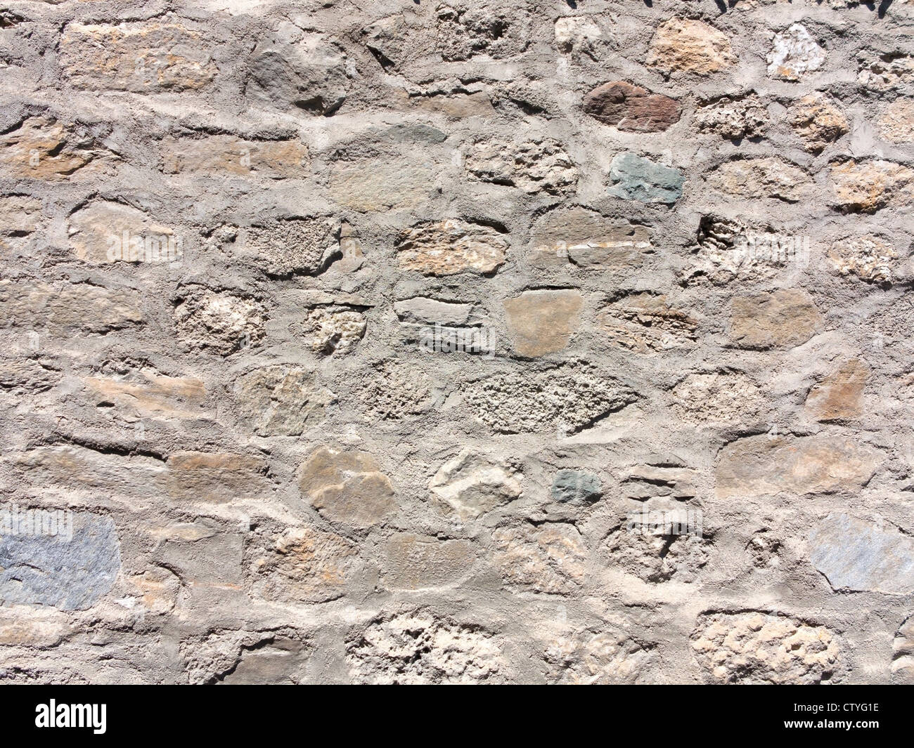 Une image d'arrière-plan d'un mur de pierre Photo Stock