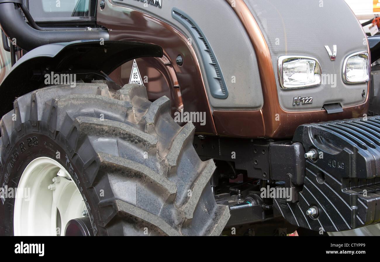 Tracteur puissant close up detail Banque D'Images