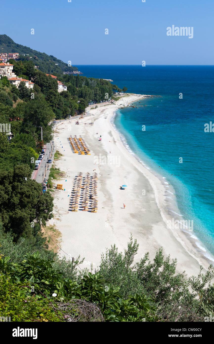 Vue sur plage de Papa Nero Photo Stock