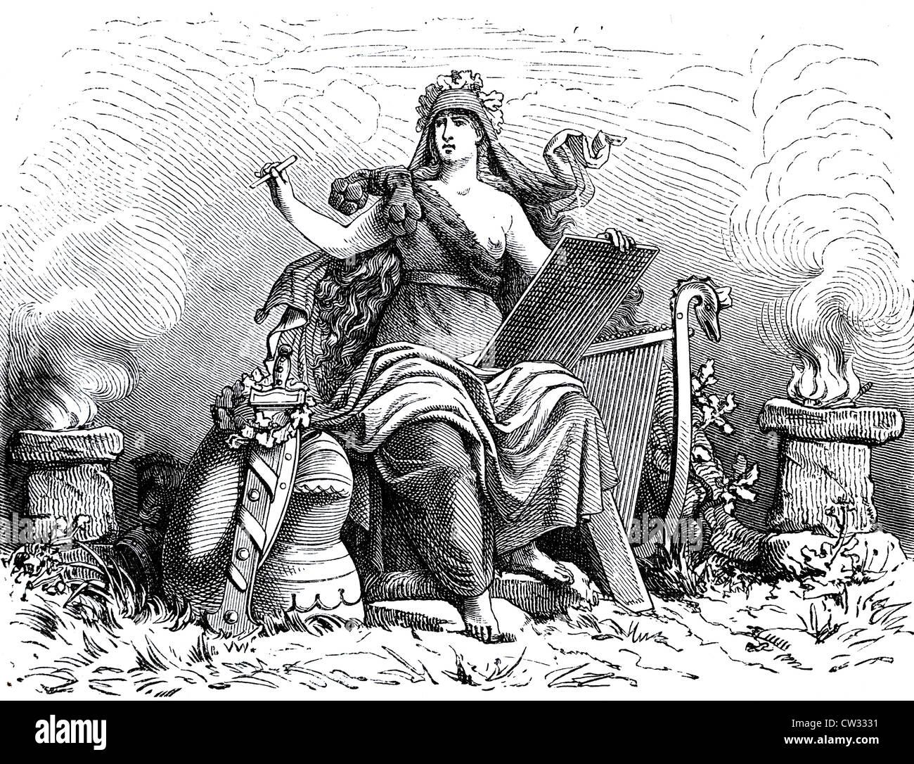 L'auteur de la mythologie historique Photo Stock