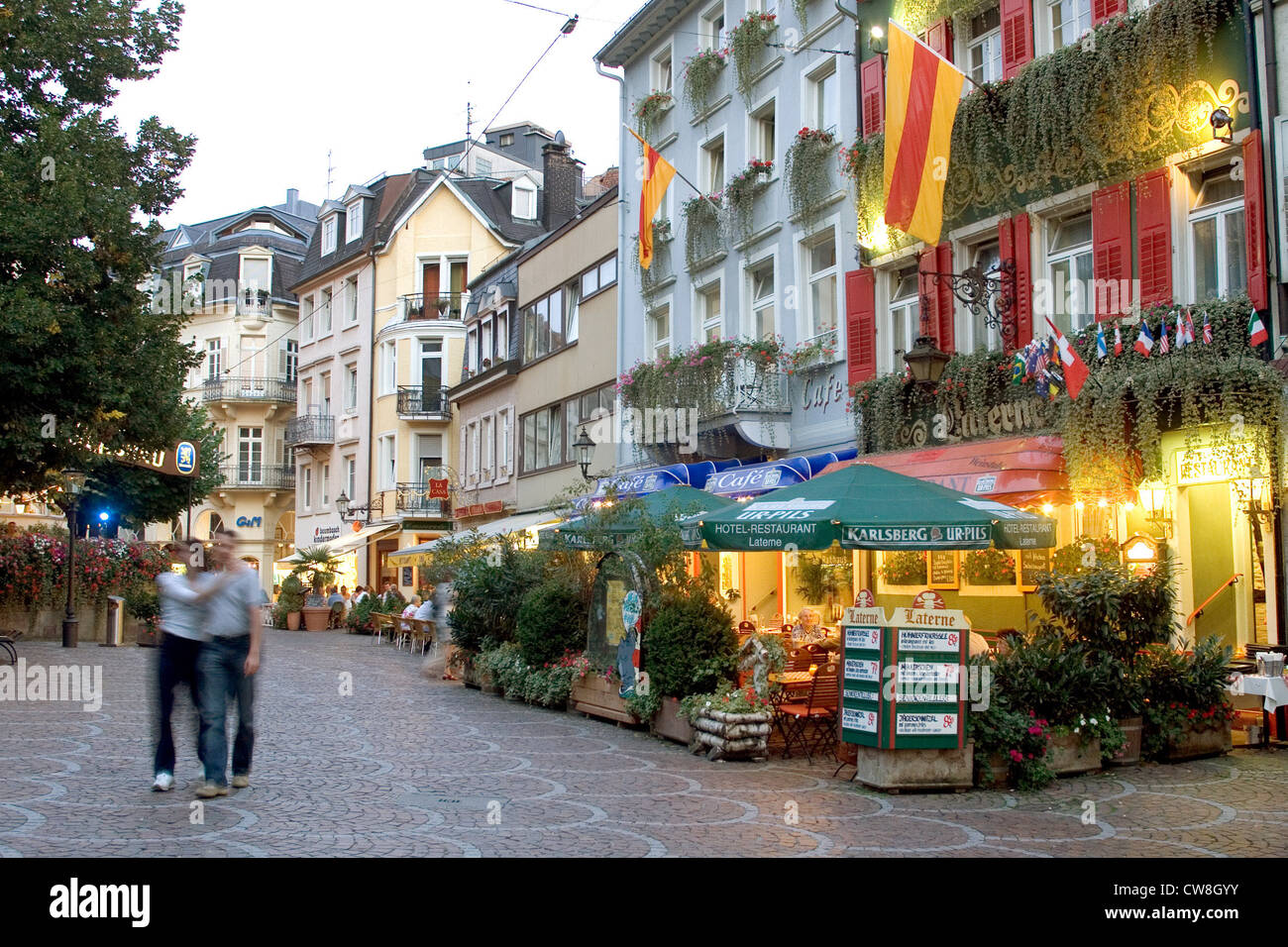 Baden baden regardez les rues du centre ville banque d 39 images photo stock 49976079 alamy - Office du tourisme baden baden ...