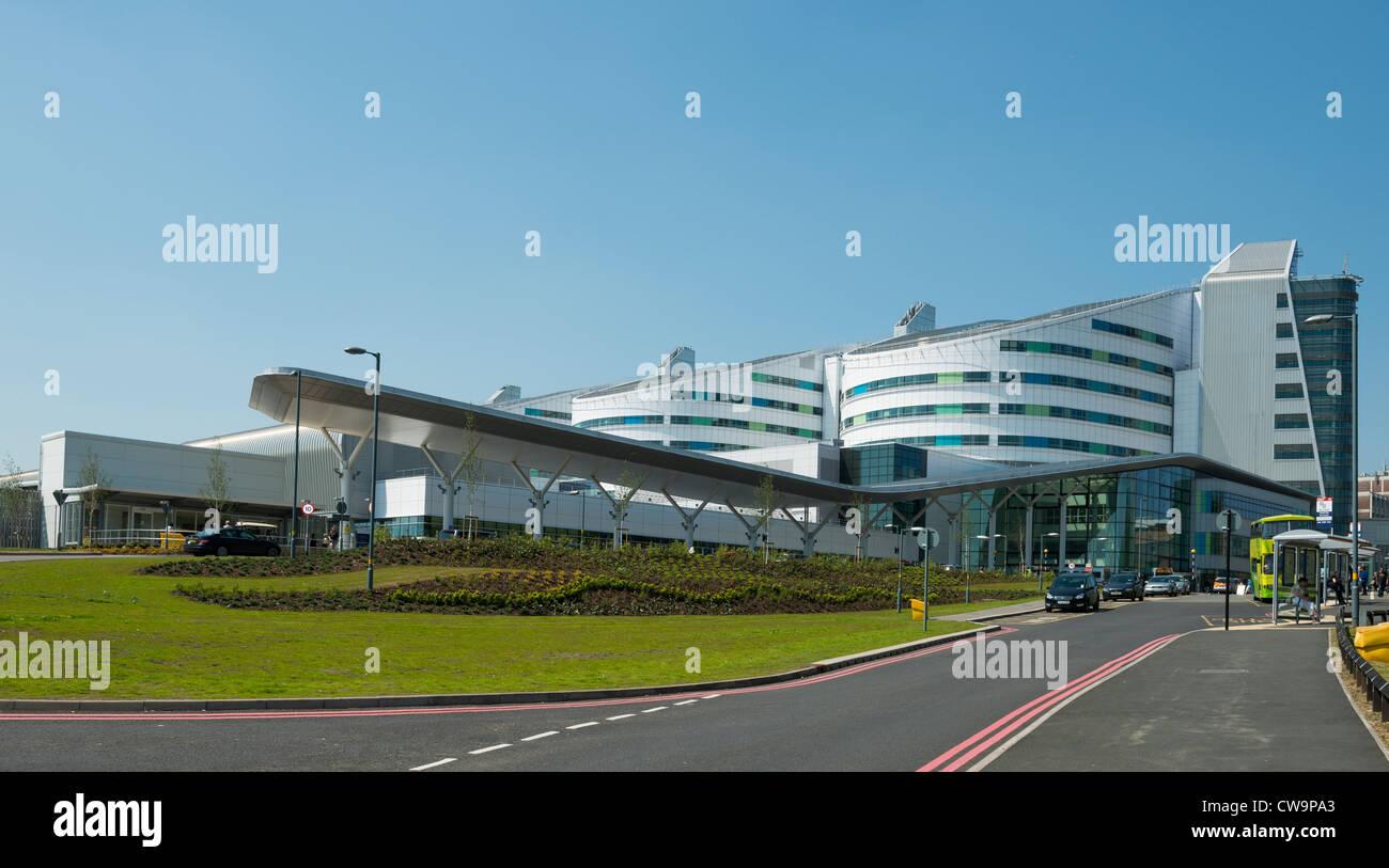 Queen Elizabeth Hospital de Birmingham. Labs. Les hôpitaux de l'université Birmingham NHS Foundation Photo Stock
