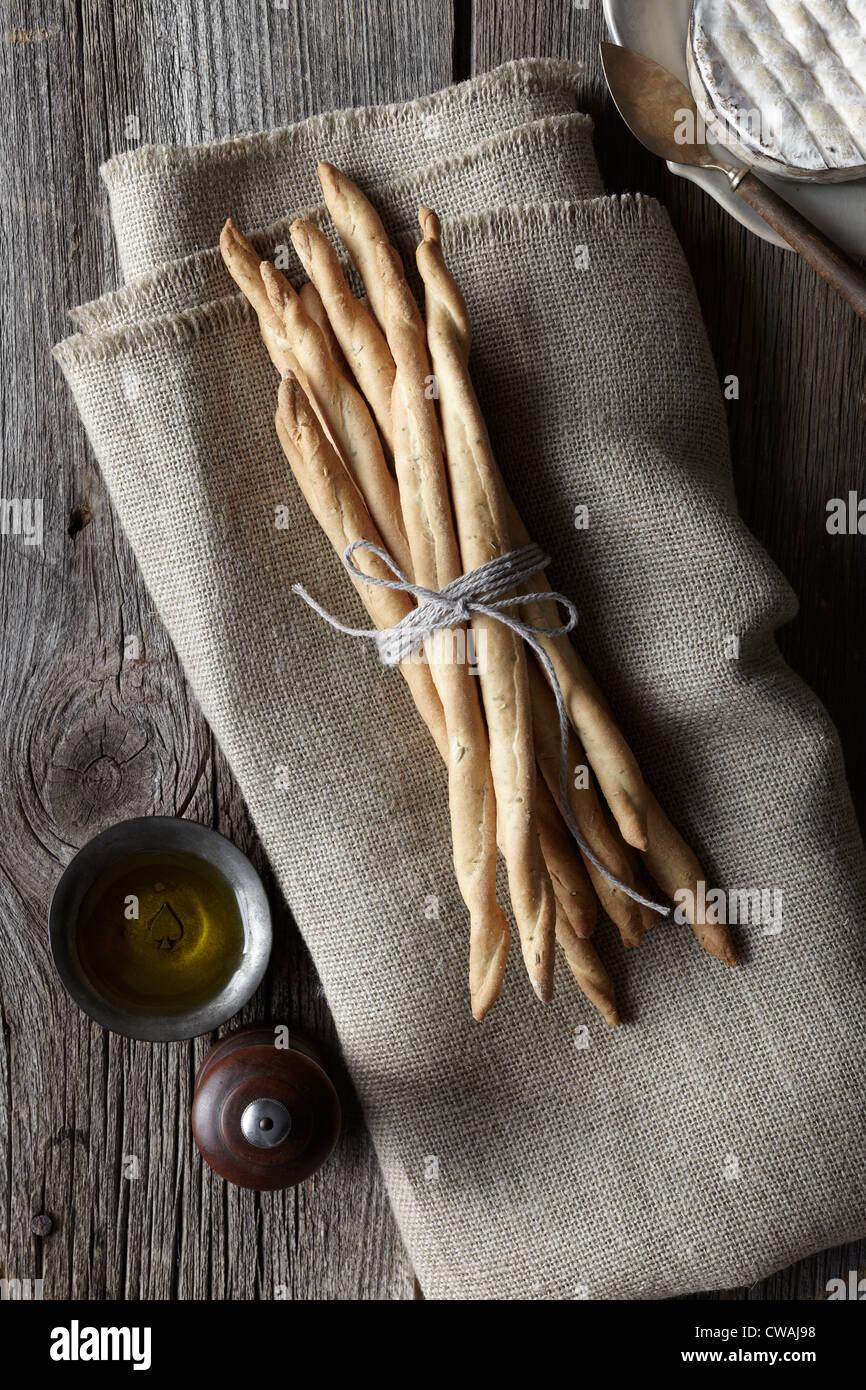 Bâtonnets liés avec de la ficelle Photo Stock