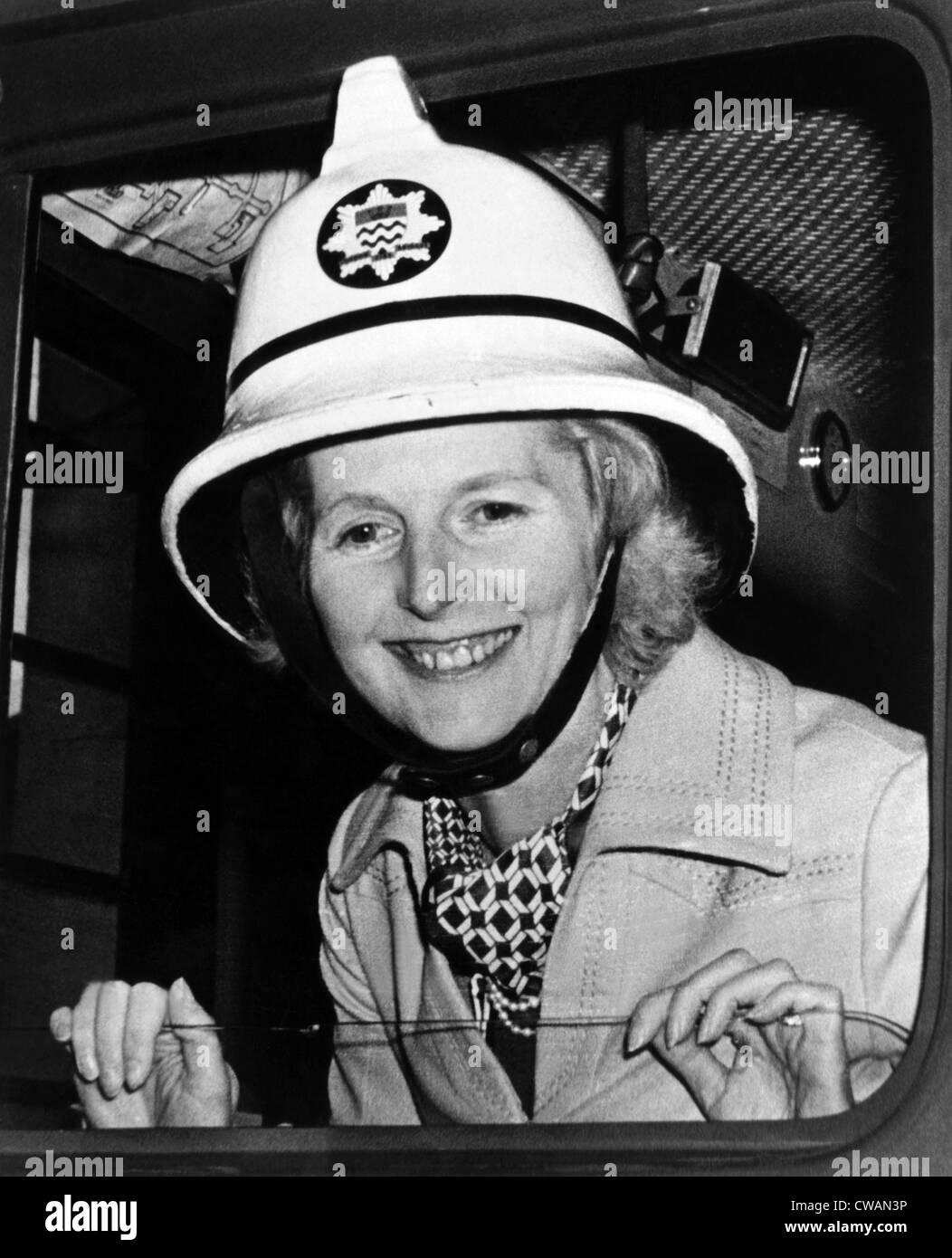 Margaret Thatcher, futur premier ministre du Royaume-Uni, vers 1976. Avec la permission de: Archives CSU/Everett Photo Stock