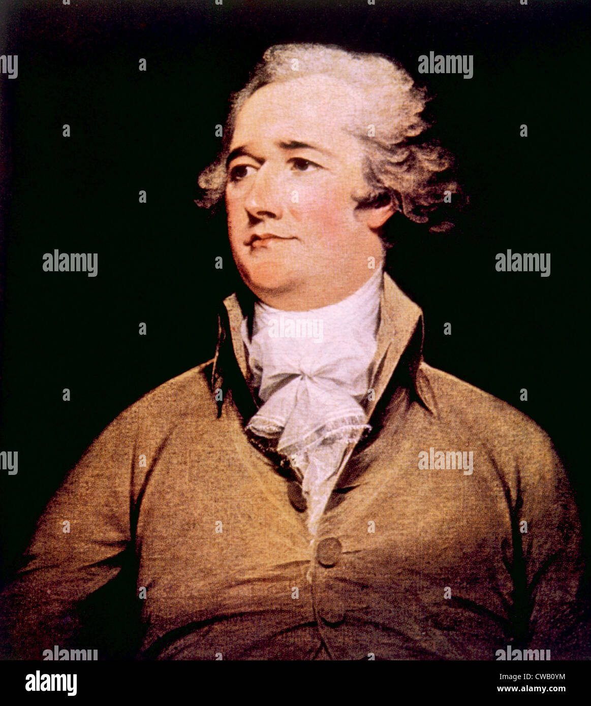 Alexander Hamilton (1755-1804) Photo Stock