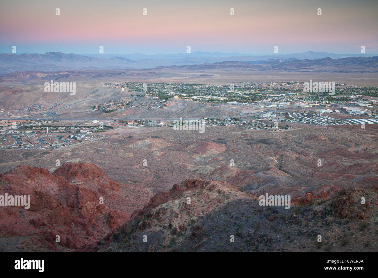 Boulder City, Nevada. Photo Stock