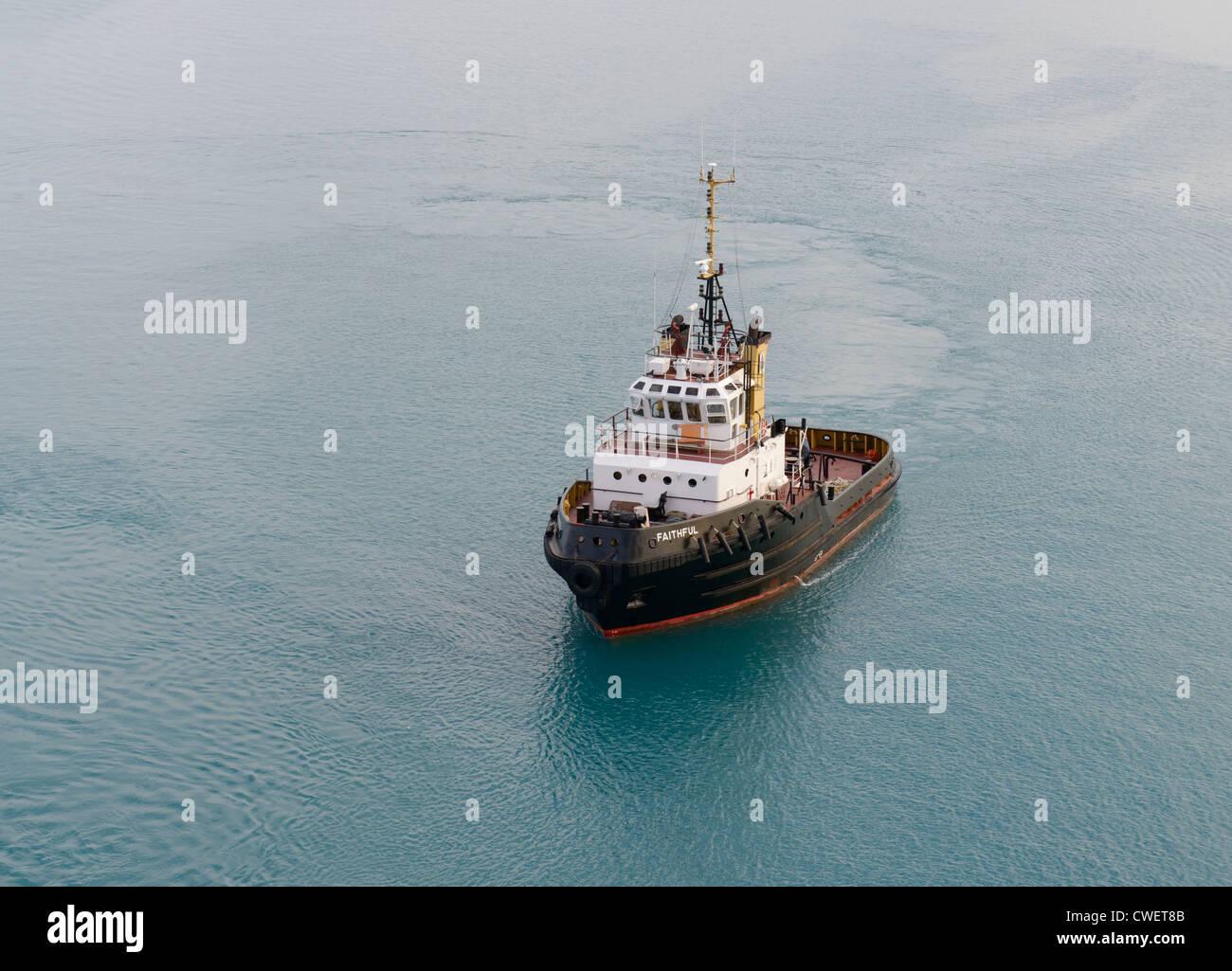 Tug boat, Bermudes Photo Stock