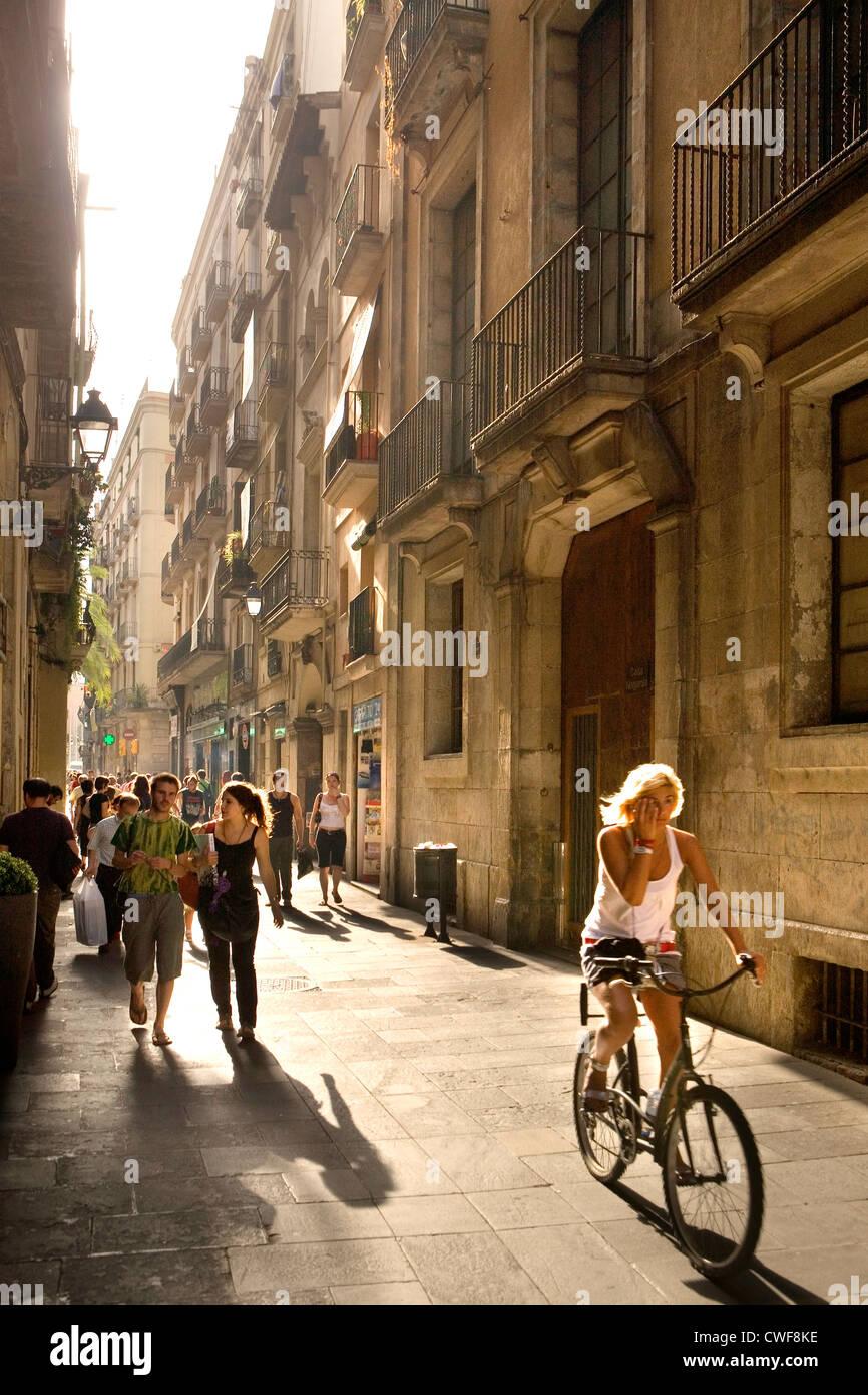 Barcelone, Catalogne, Espagne Photo Stock