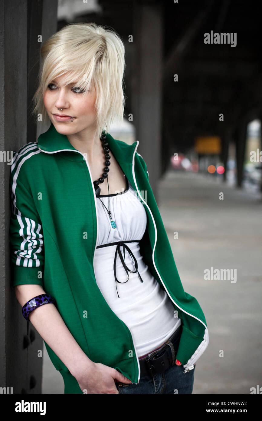 Jeune femme,lifestyle,culture de la jeunesse Photo Stock