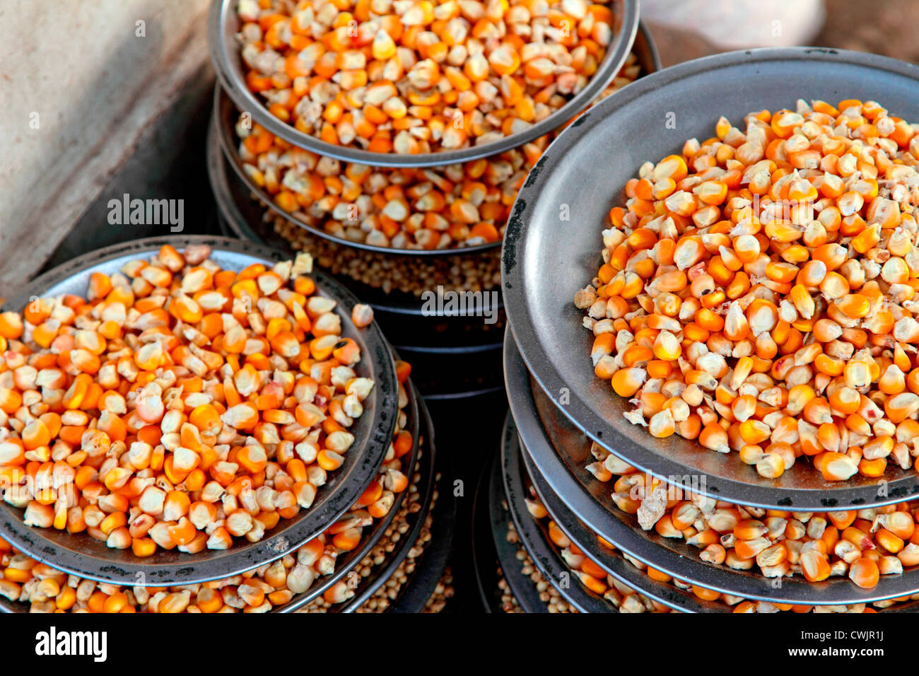 La semence, maïs, ingrédient, l'alimentation, de l'agriculture, jaune, légumes, nature, nutrition, Photo Stock
