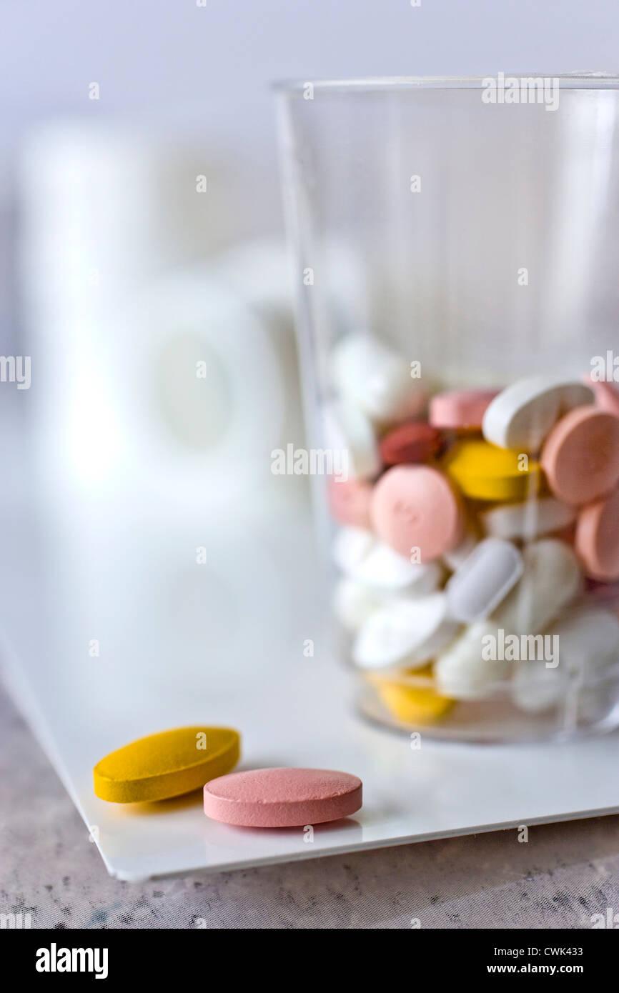 Système de soins de santé - médicaments Photo Stock