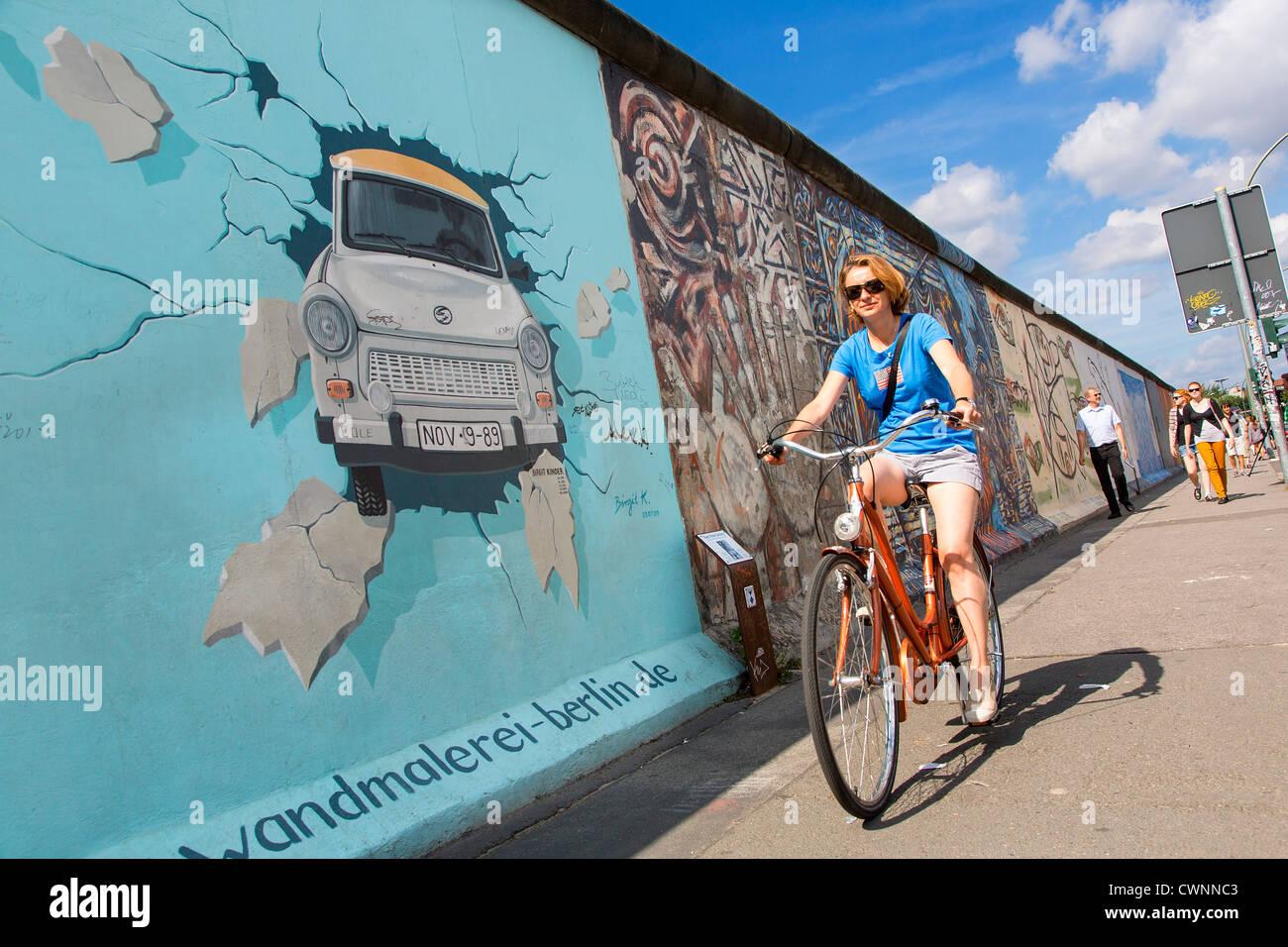 Berlin, East Side Gallery Photo Stock