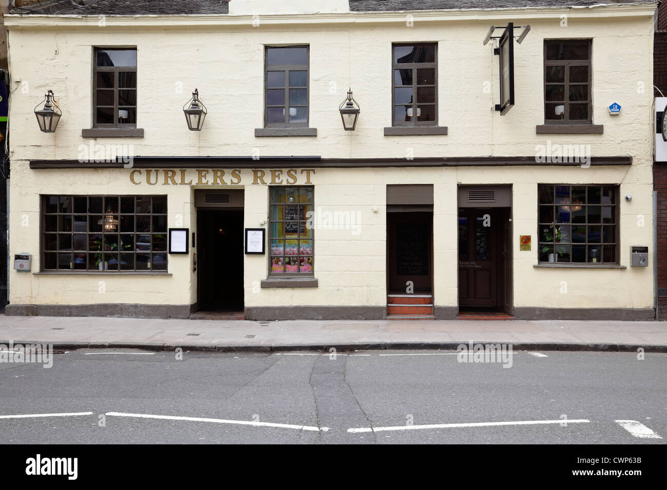 Les joueurs reste Pub sur Byres Road dans le West End de Glasgow Scotland UK Photo Stock