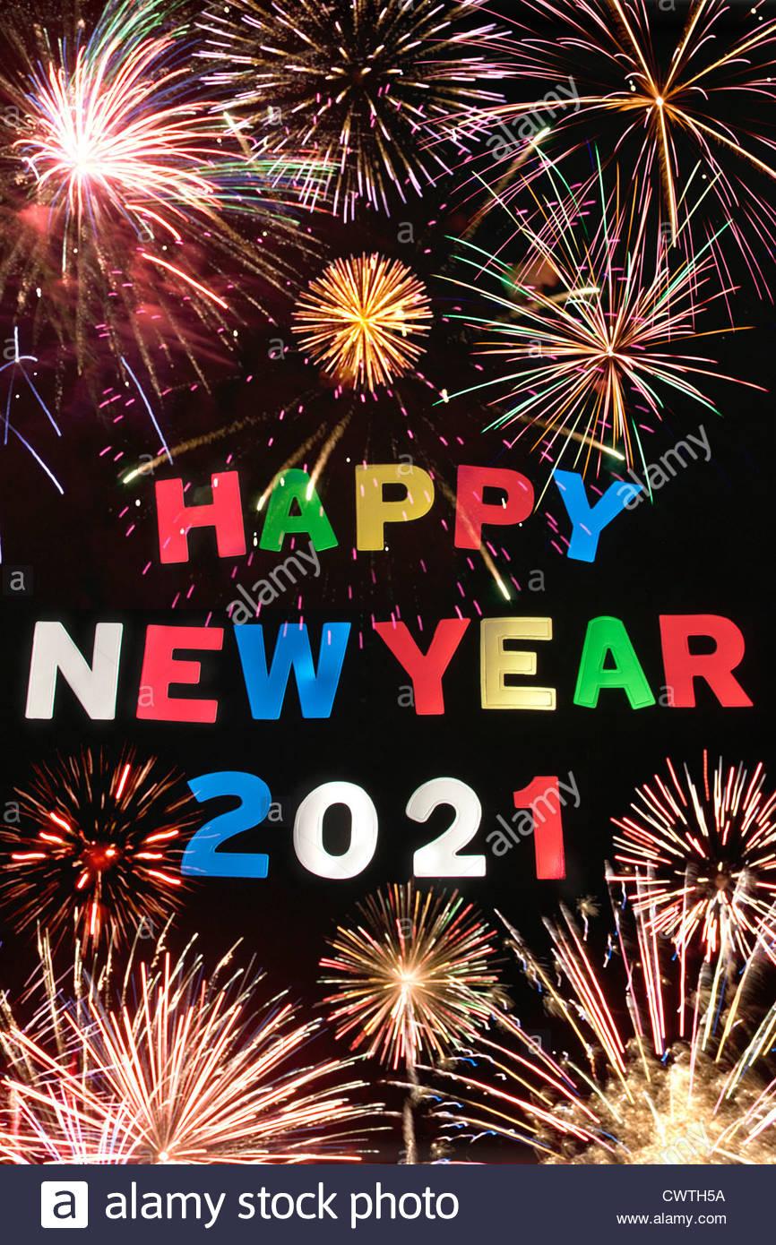 Bonne Année 2021 Photo Stock - Alamy