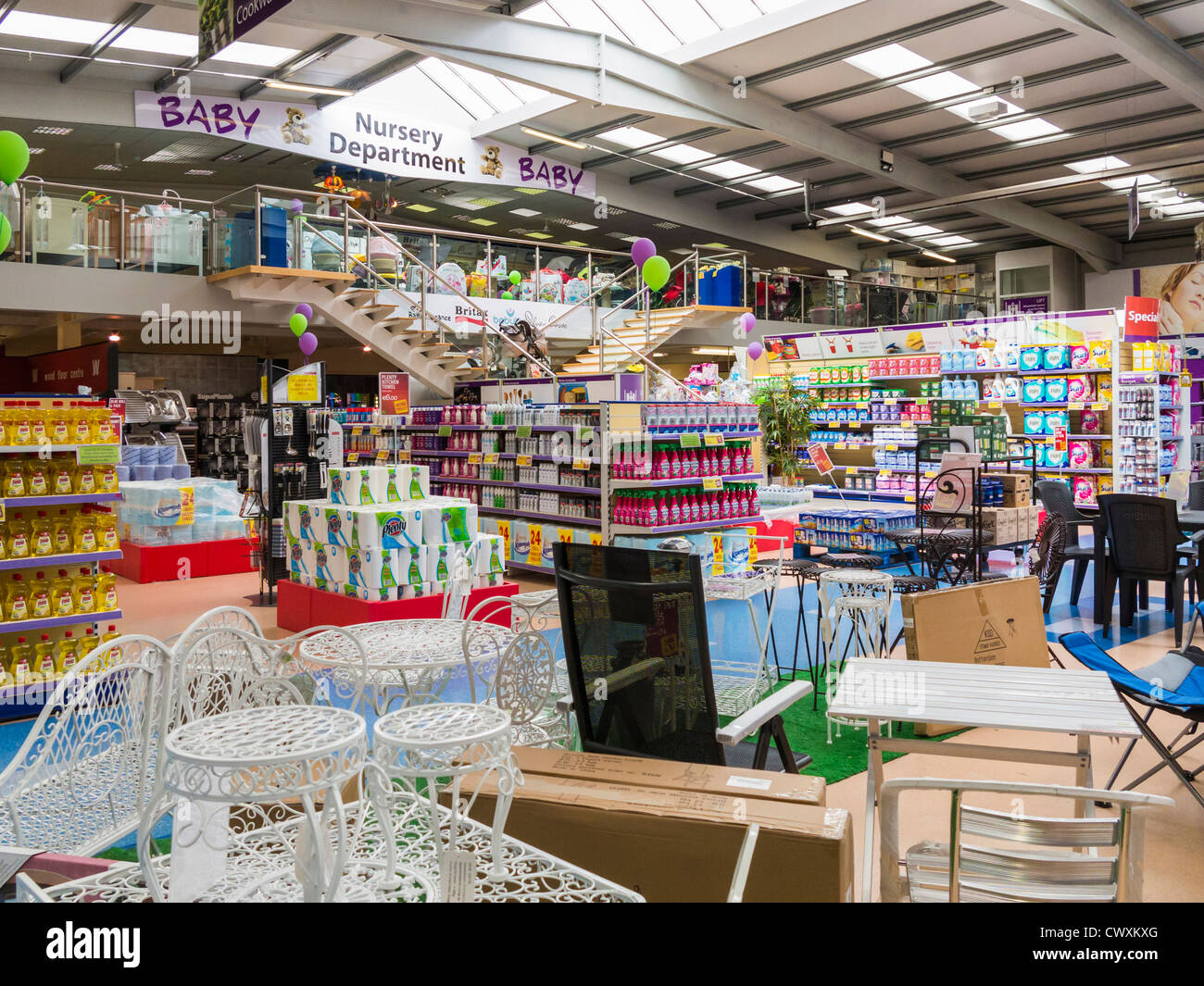 Magasin de bricolage Photo Stock