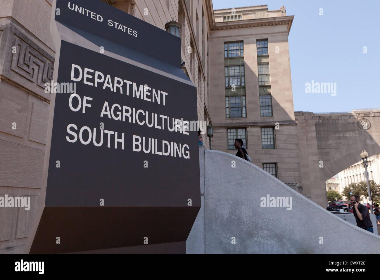 L'administration centrale au Ministère de l'Agriculture des États-Unis - Washington, DC USA Photo Stock