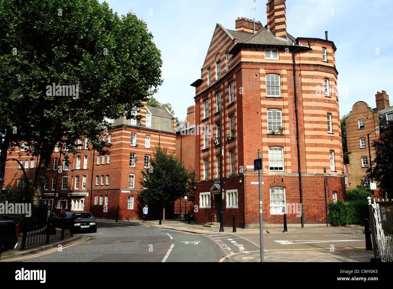 Arnold Circus, Boundary Estate, Bethnal Green, Londres, UK Photo Stock