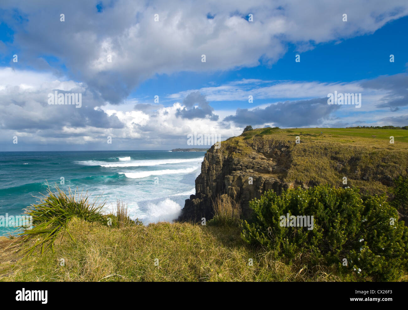 Tempête sur Minnamurra, New South Wales, Australie Photo Stock