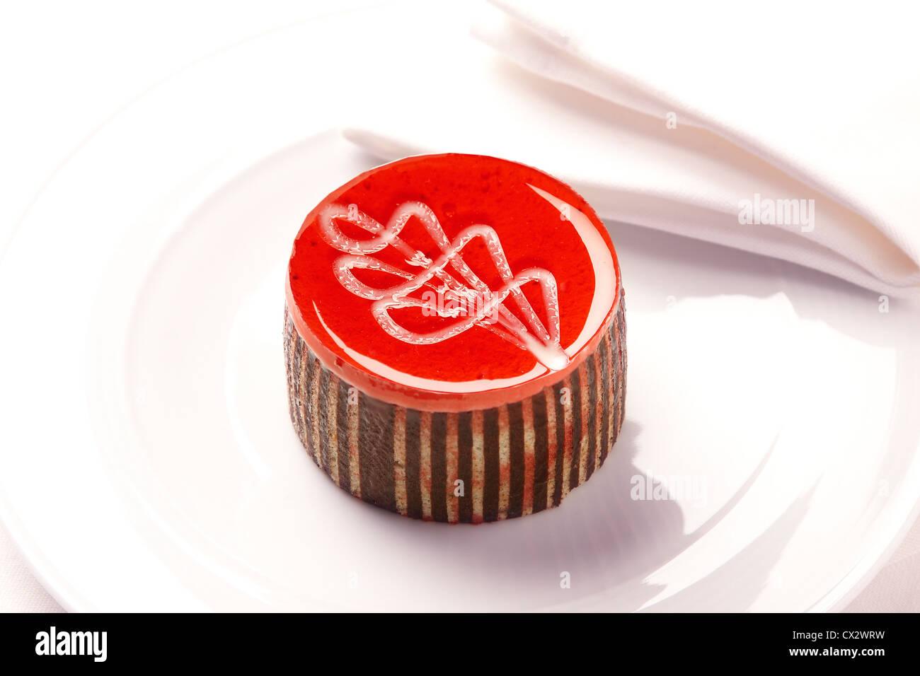 Pâtisserie gastronomique Photo Stock