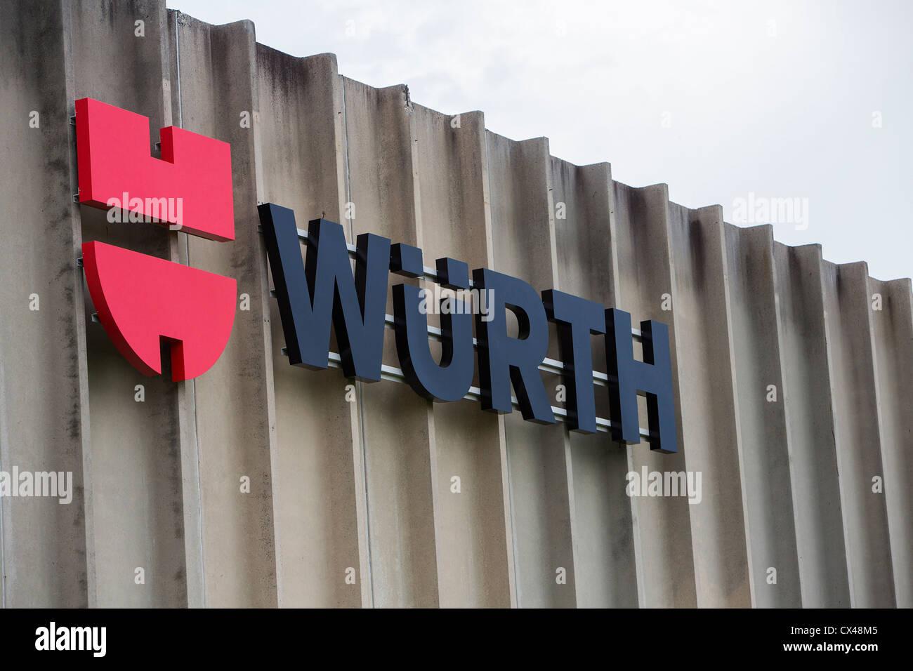 Un entrepôt Wurth. Photo Stock