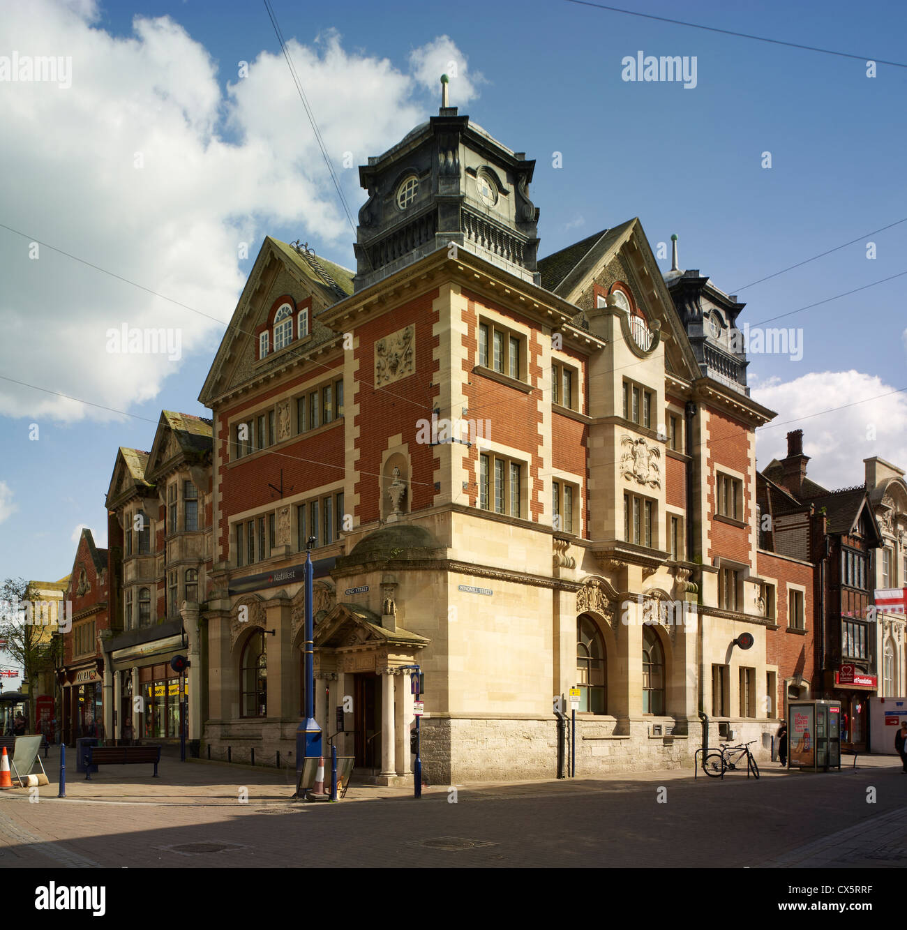 Gravesend, NatWest Bank Photo Stock