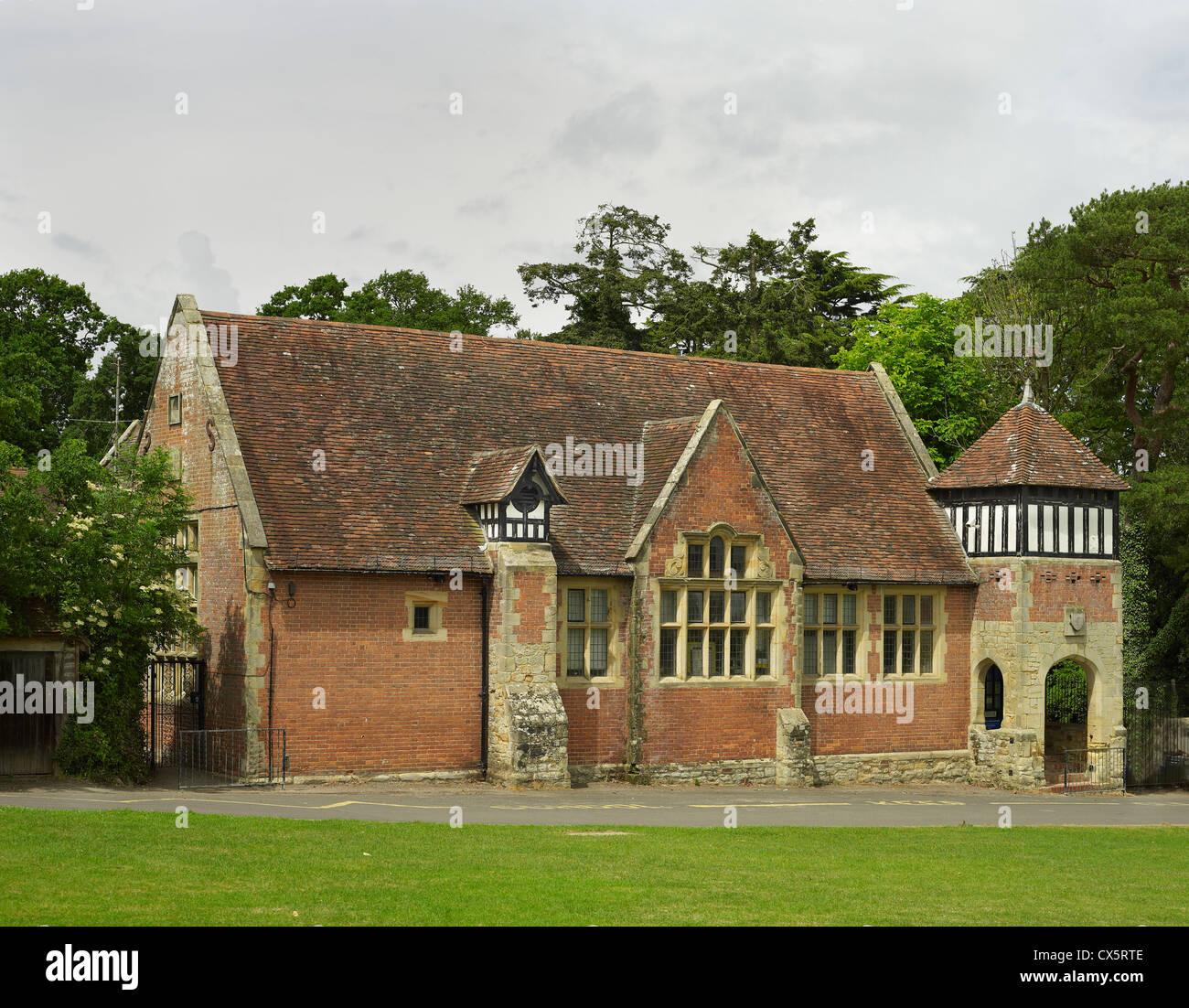 Sissinghurst, Kent. L'école primaire par George Devey Photo Stock