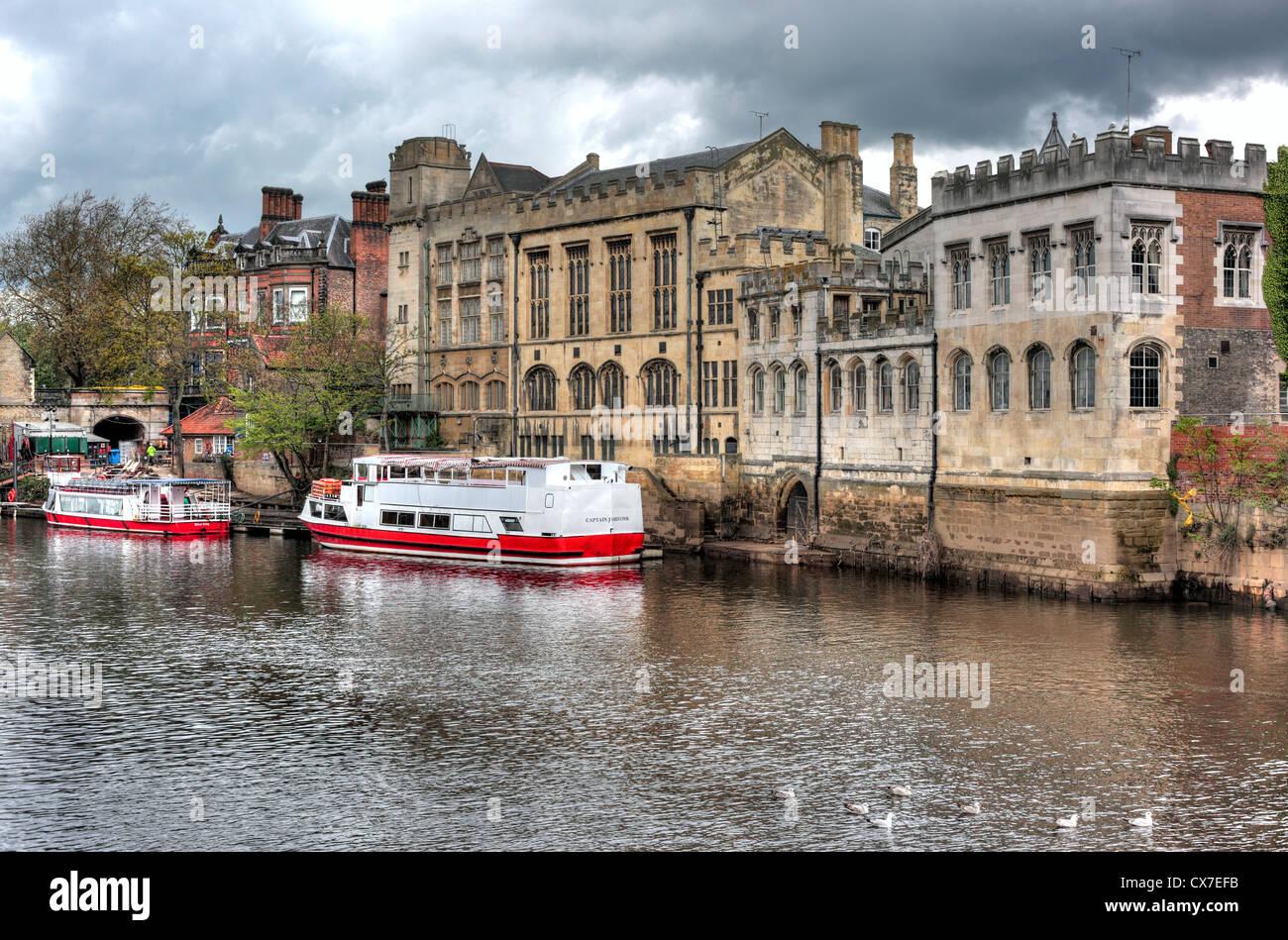 York, North Yorkshire, Angleterre, Royaume-Uni Photo Stock