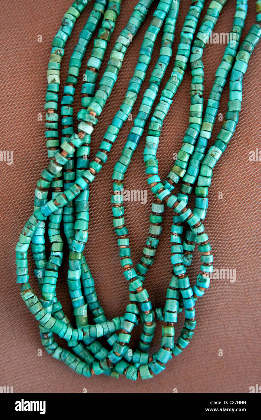 Collier Turquoise Banque D'Images