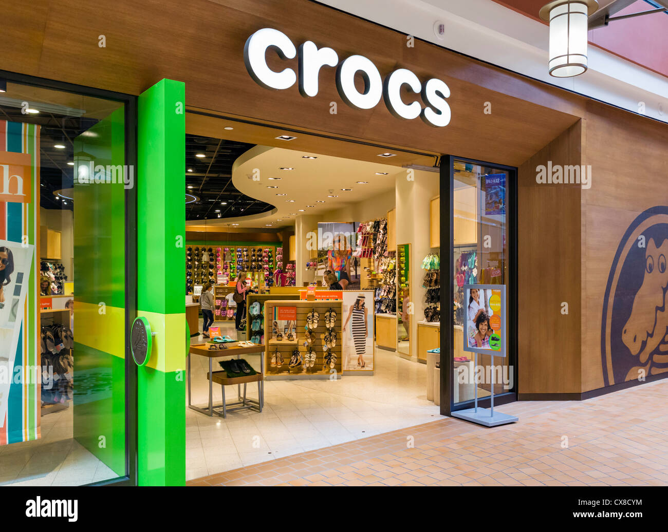 12acb92d3c4 Crocs magasin dans le centre commercial Mall of America