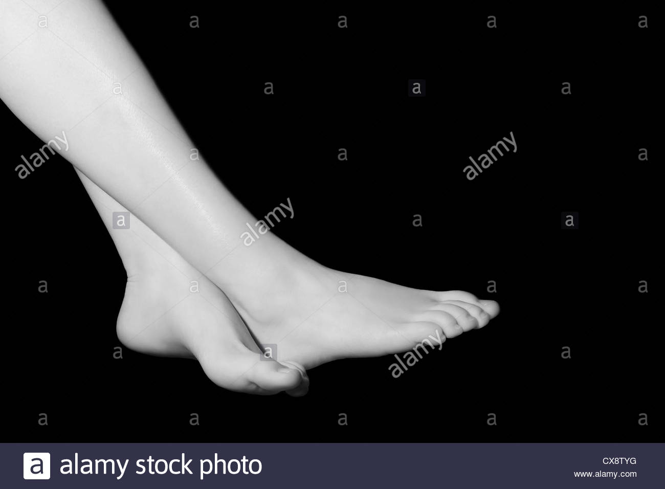 Pieds Photo Stock