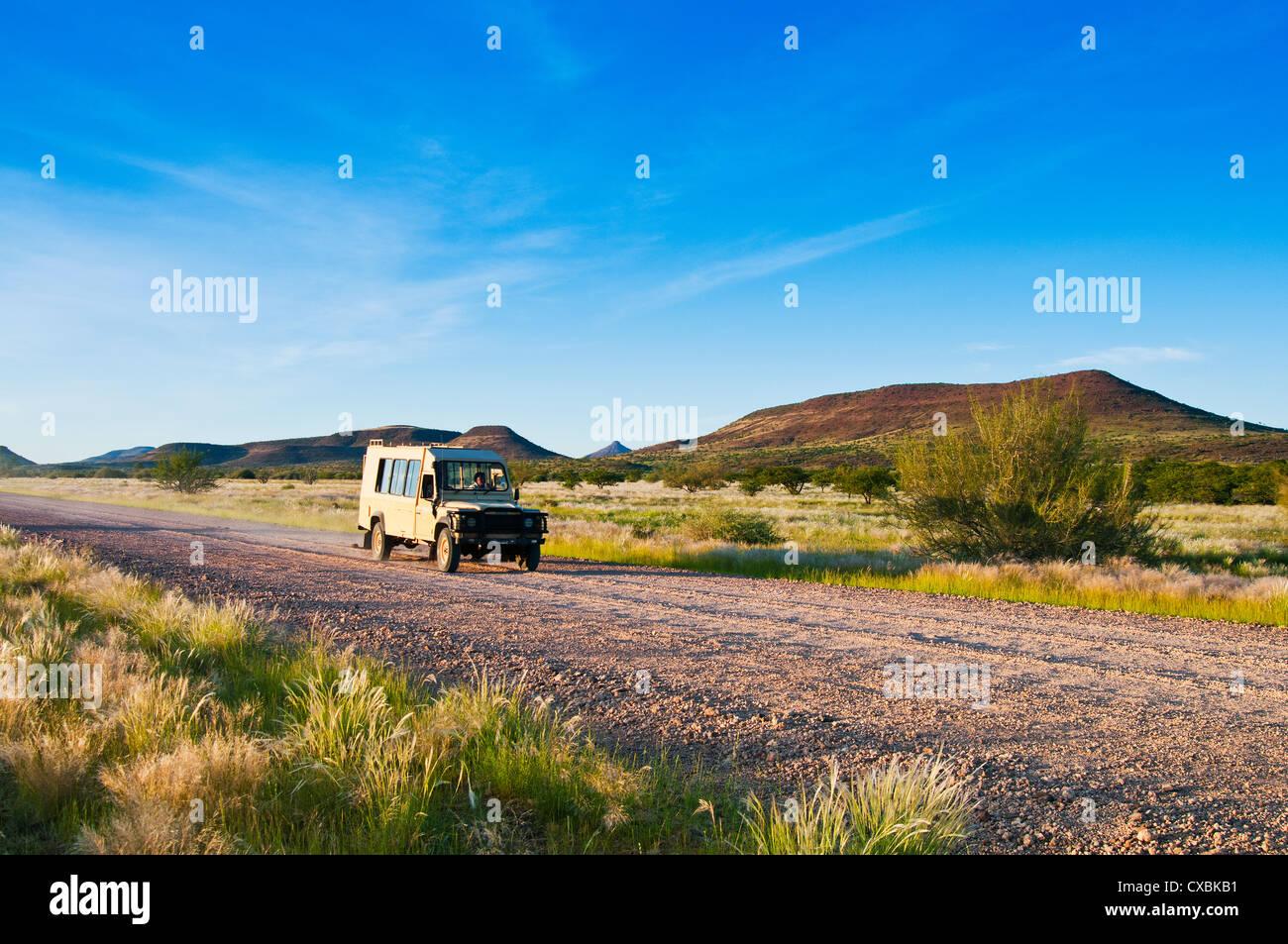 La région de Kunene, Damaraland, Namibie, Afrique Banque D'Images