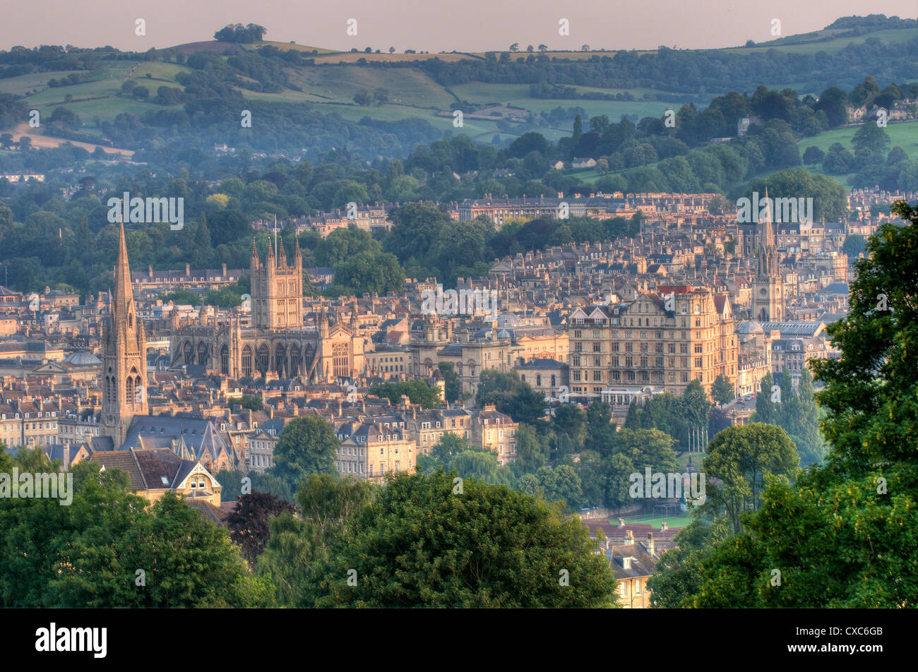 Bath, Somerset, Angleterre, Royaume-Uni, Europe Photo Stock