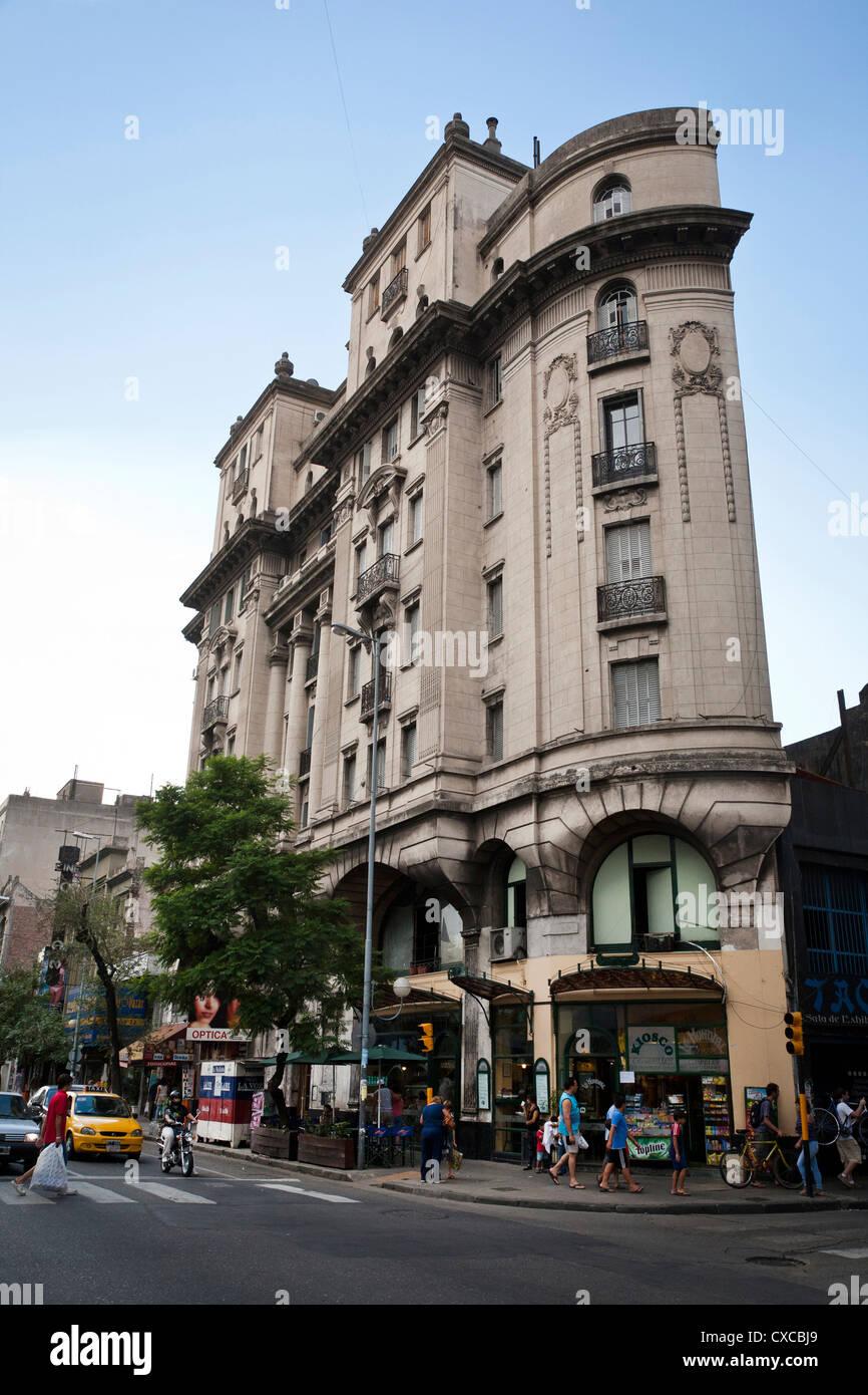 L'architecture coloniale, la ville de Cordoba, Argentine, Province de Cordoba. Photo Stock