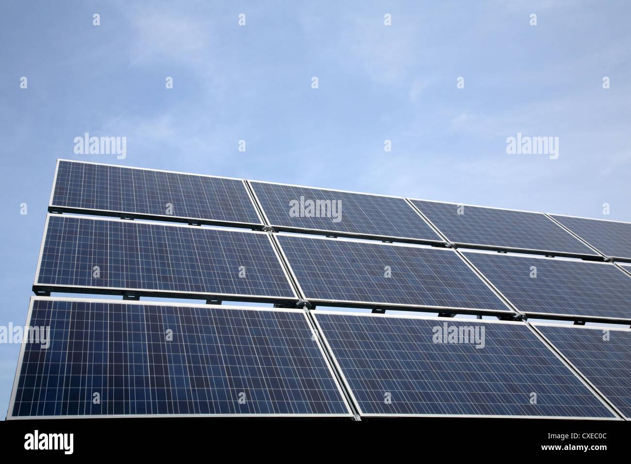 Énergie solaire Photo Stock