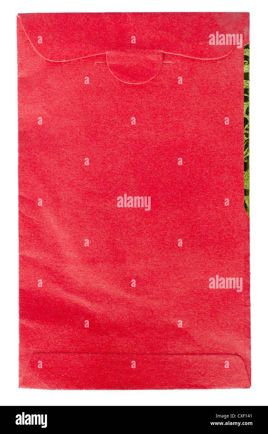 Paquet de papier enveloppe élément chinois Photo Stock