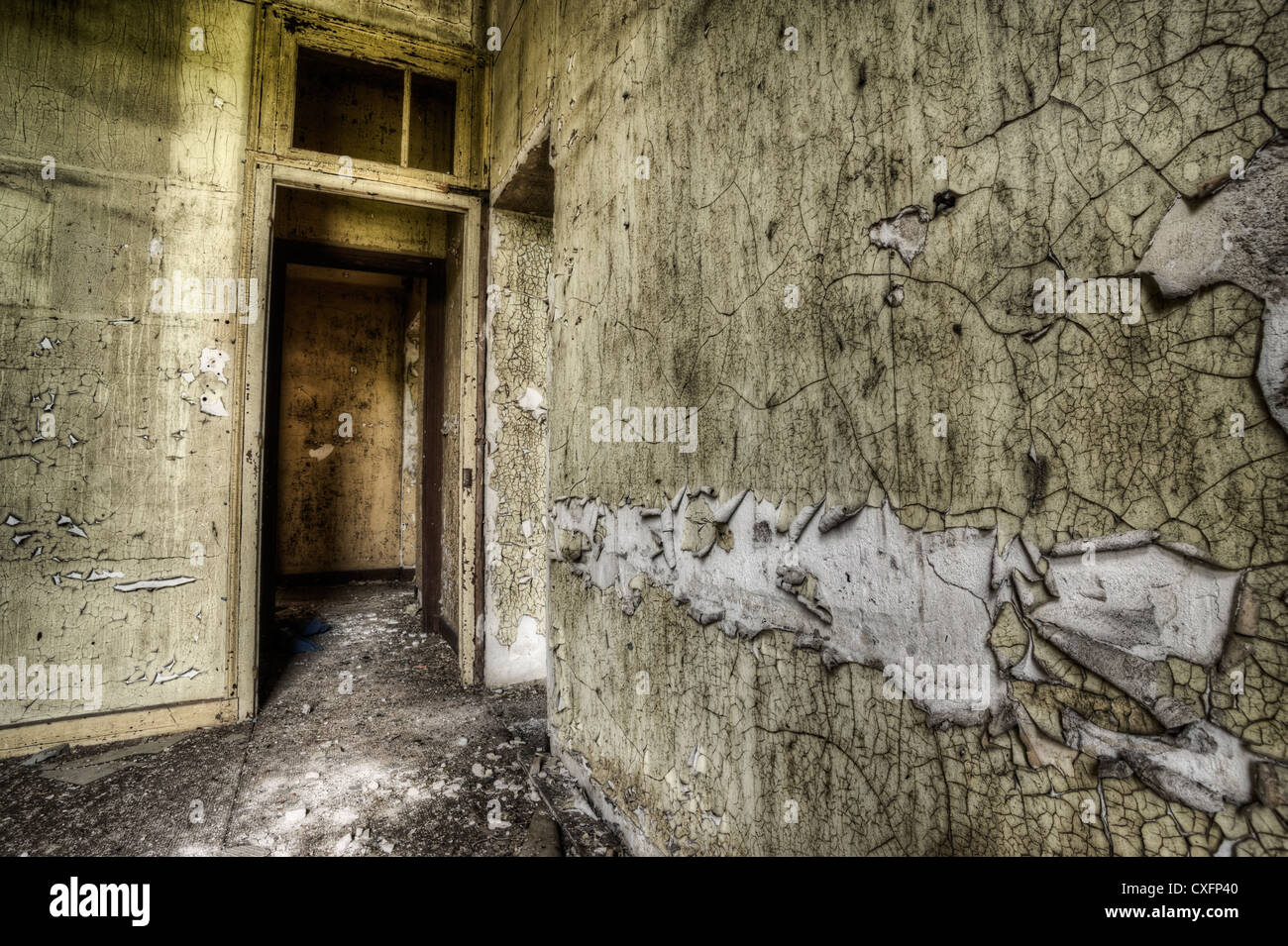 Abandoned house interior Banque D'Images