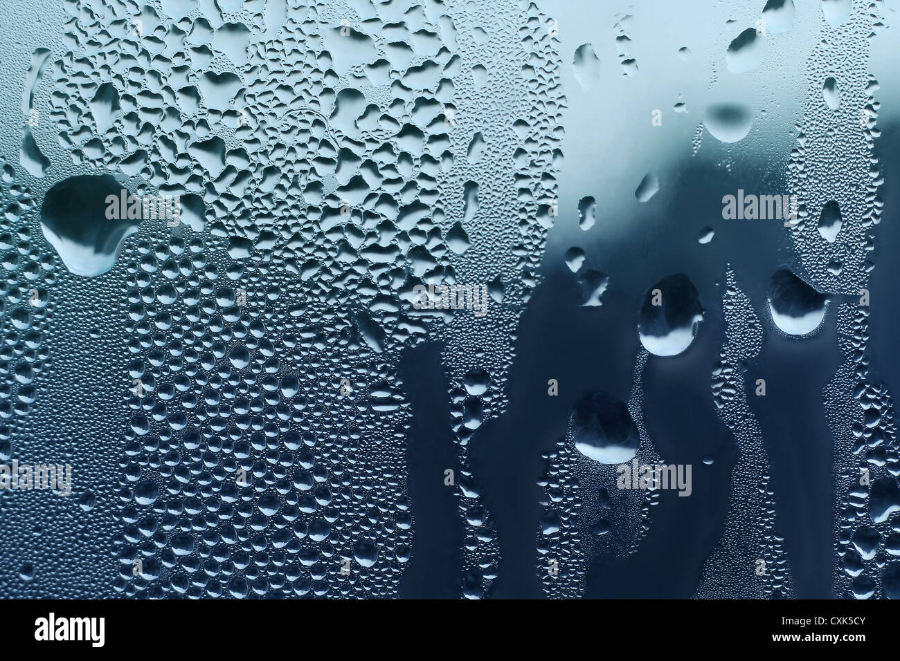 Texture naturelle Water drop Photo Stock