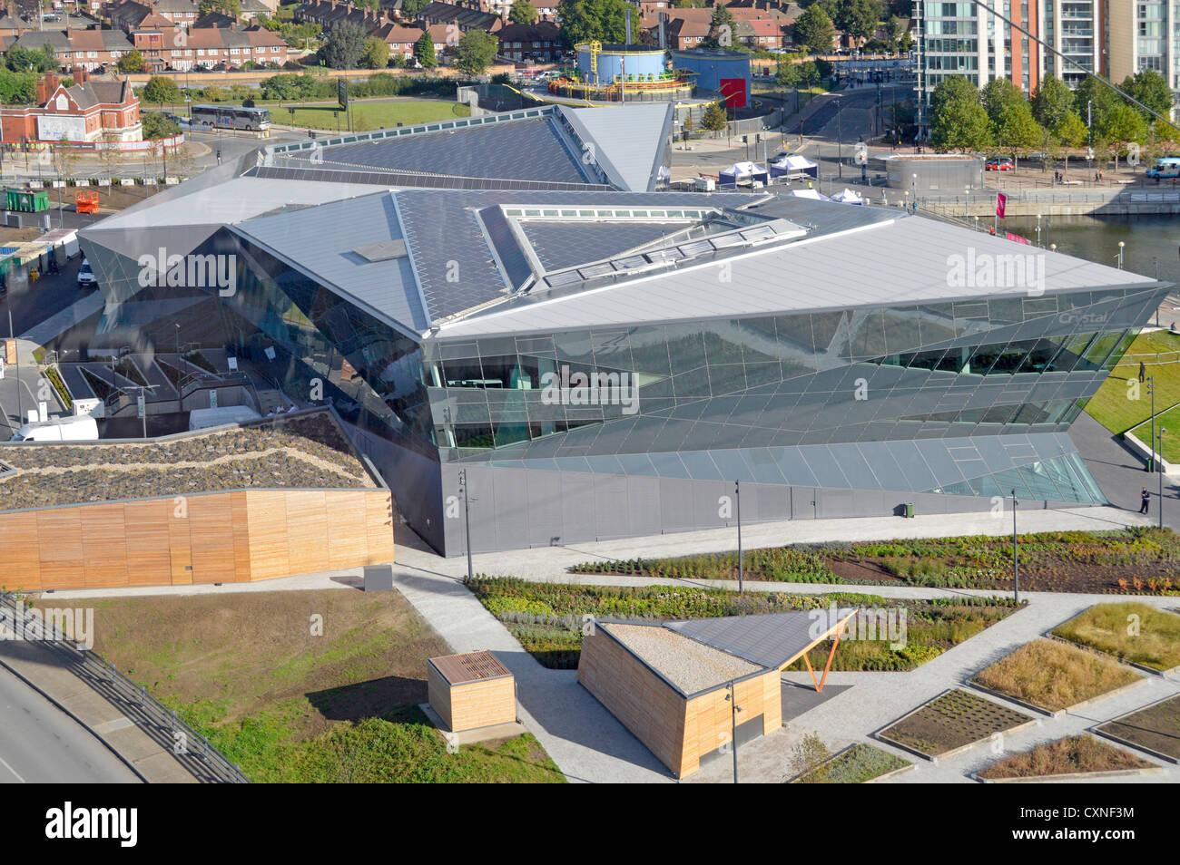 Le cliams Siemens Cristal pour être plus grand salon au monde sur l'avenir des villes et d'obtenir Photo Stock
