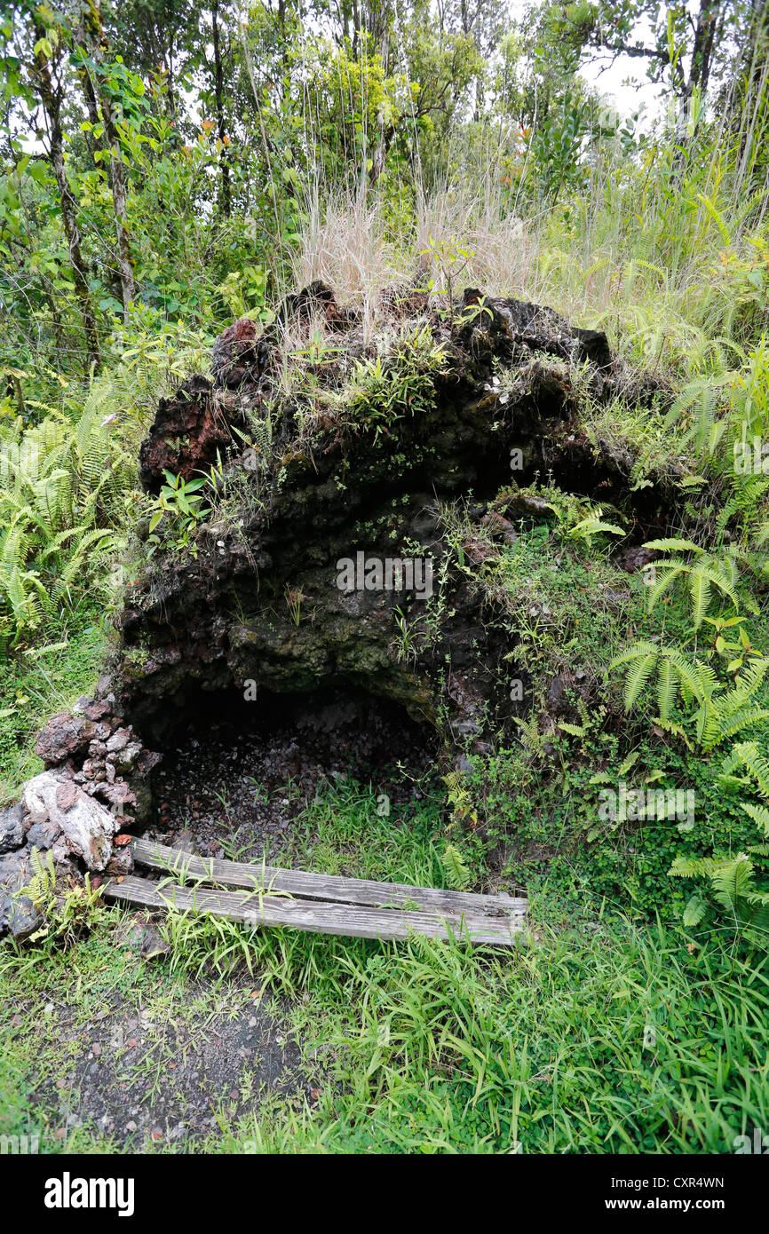 Les Cheminées à vapeur, les trous dans la zone de rift de l'est au service que d'un sauna, la Photo Stock