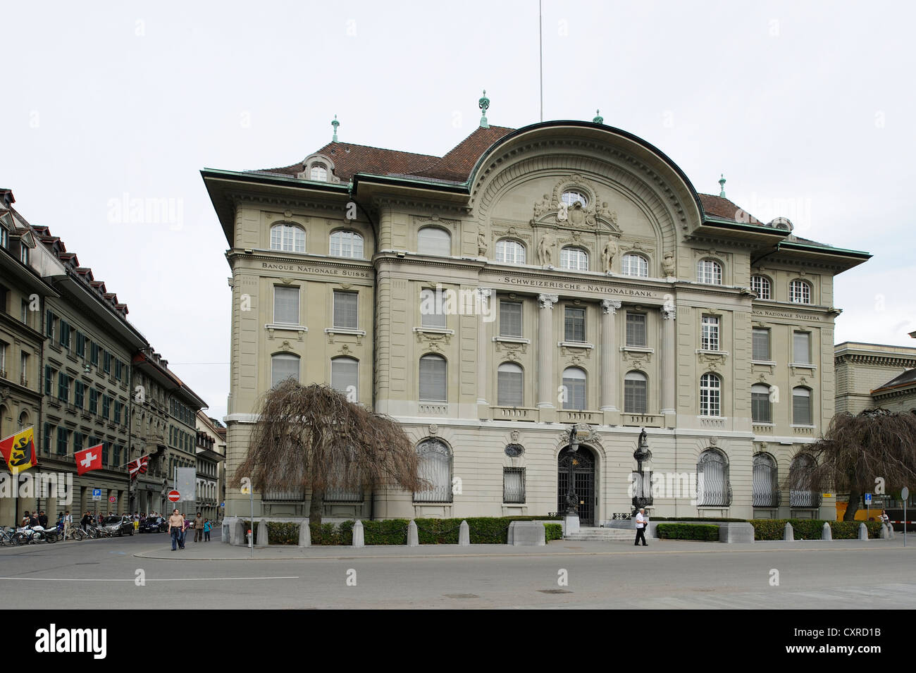 Banque nationale suisse, Berne, Suisse, Europe Photo Stock