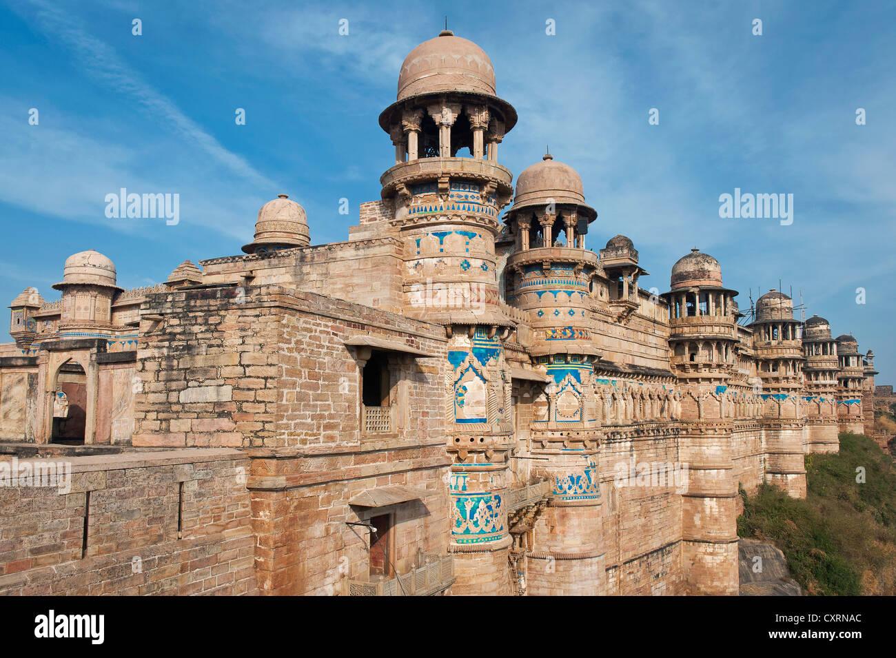 Hathi Pol Ou Elephant Man Singh Palace Gate Fort De Gwalior Ou