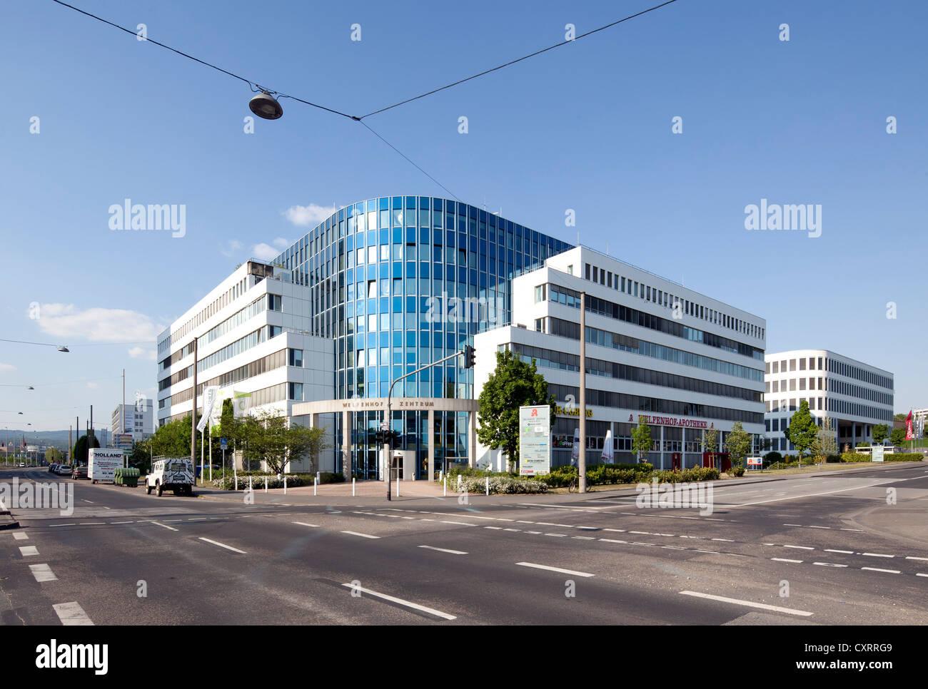 Welfenhof-Zentrum Point, médicaux, Wiesbaden, Hesse, PublicGround Photo Stock