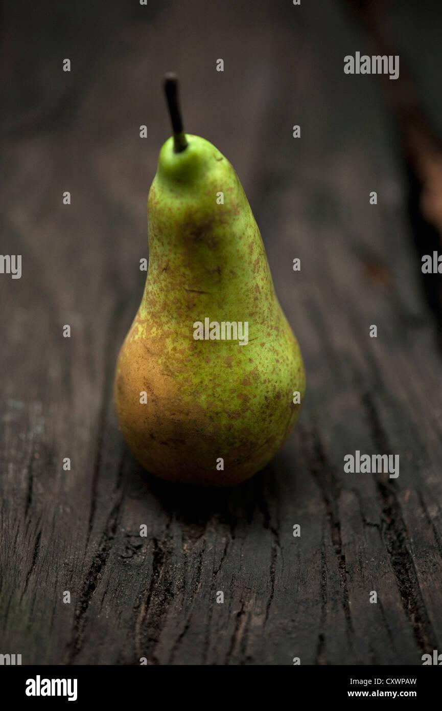Close up de pear sur table Photo Stock